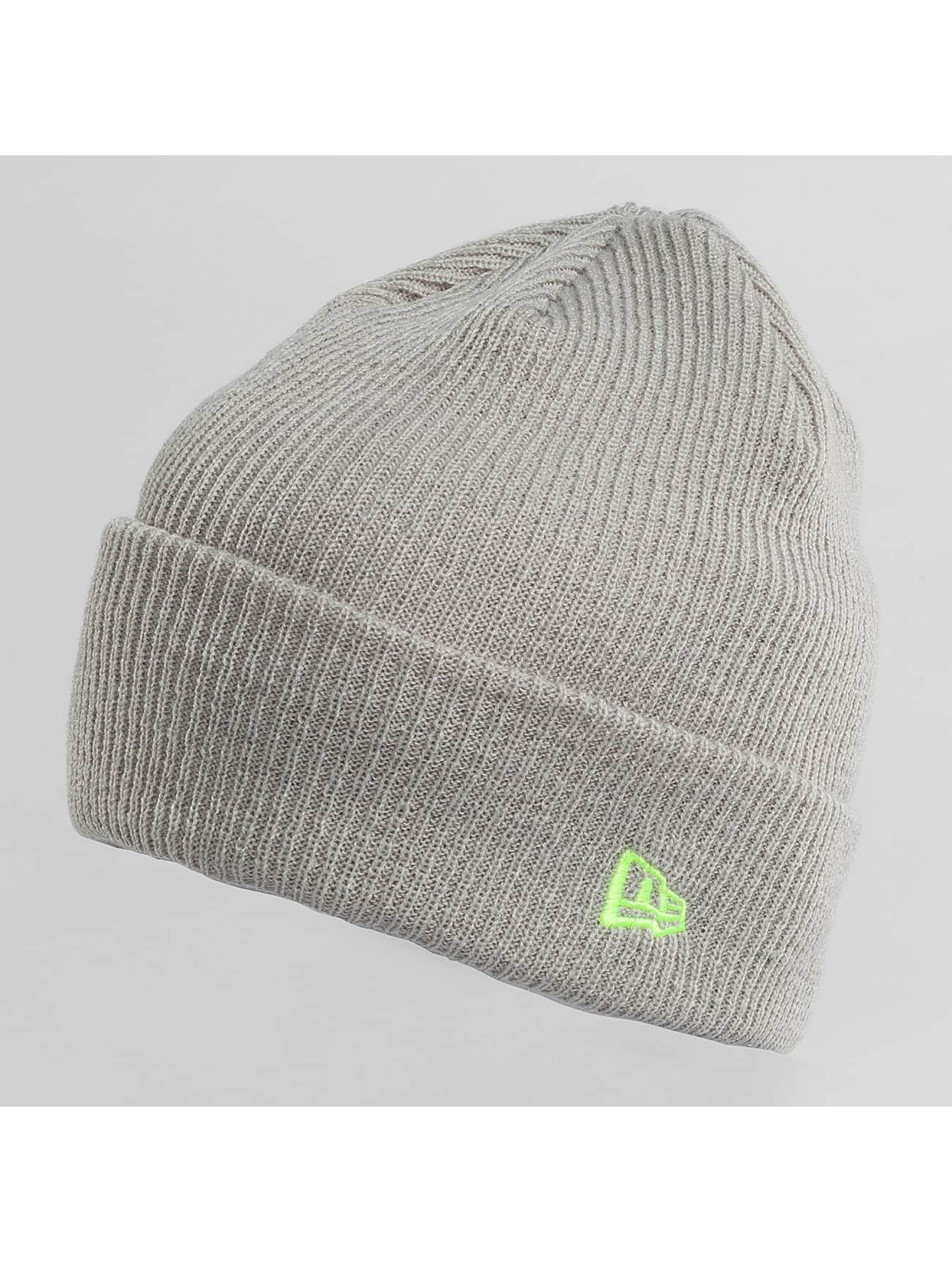 New Era Beanie Flag Pop Cuff gris