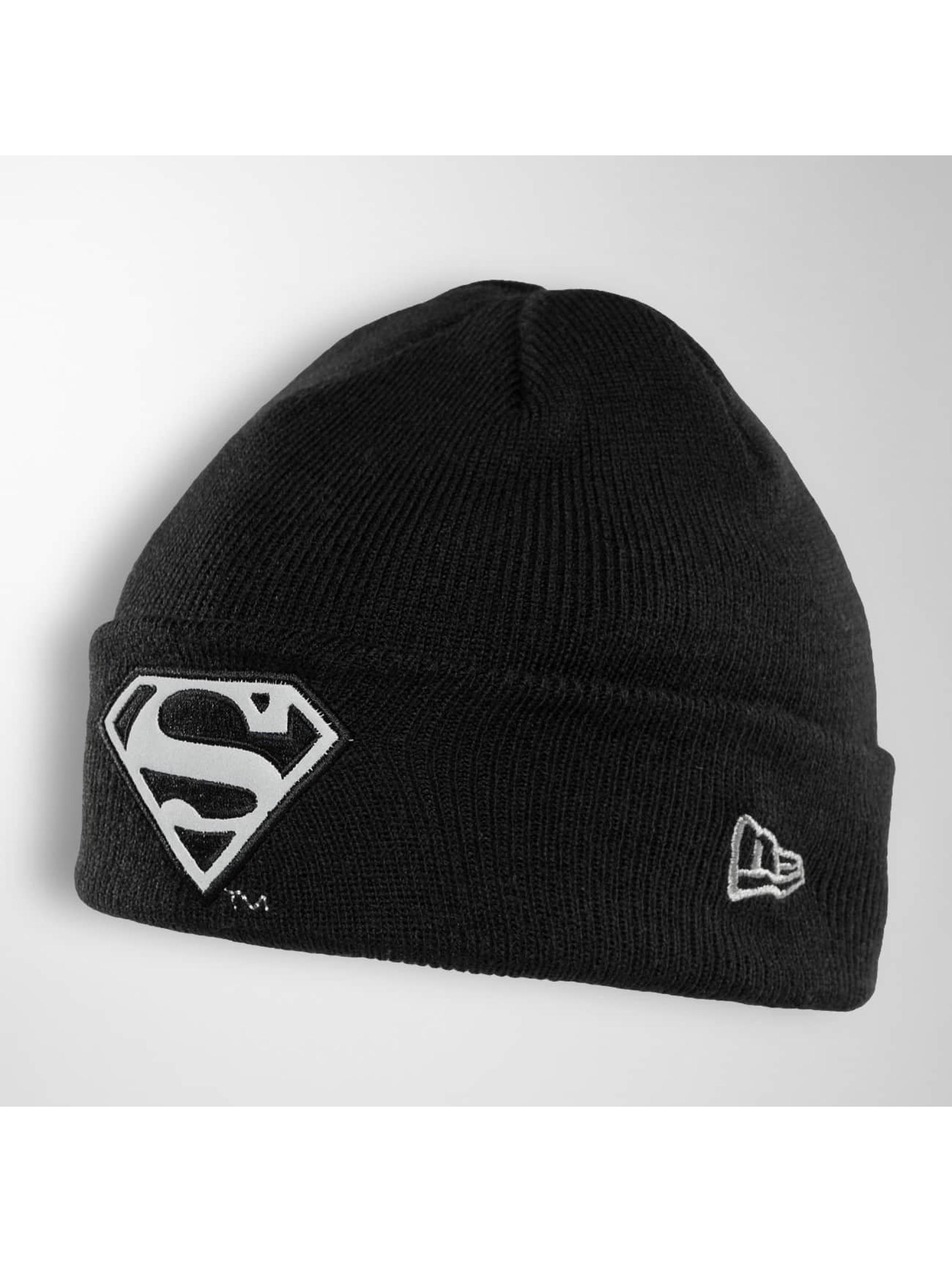 New Era Beanie Reflect Cuff Knit Superman svart