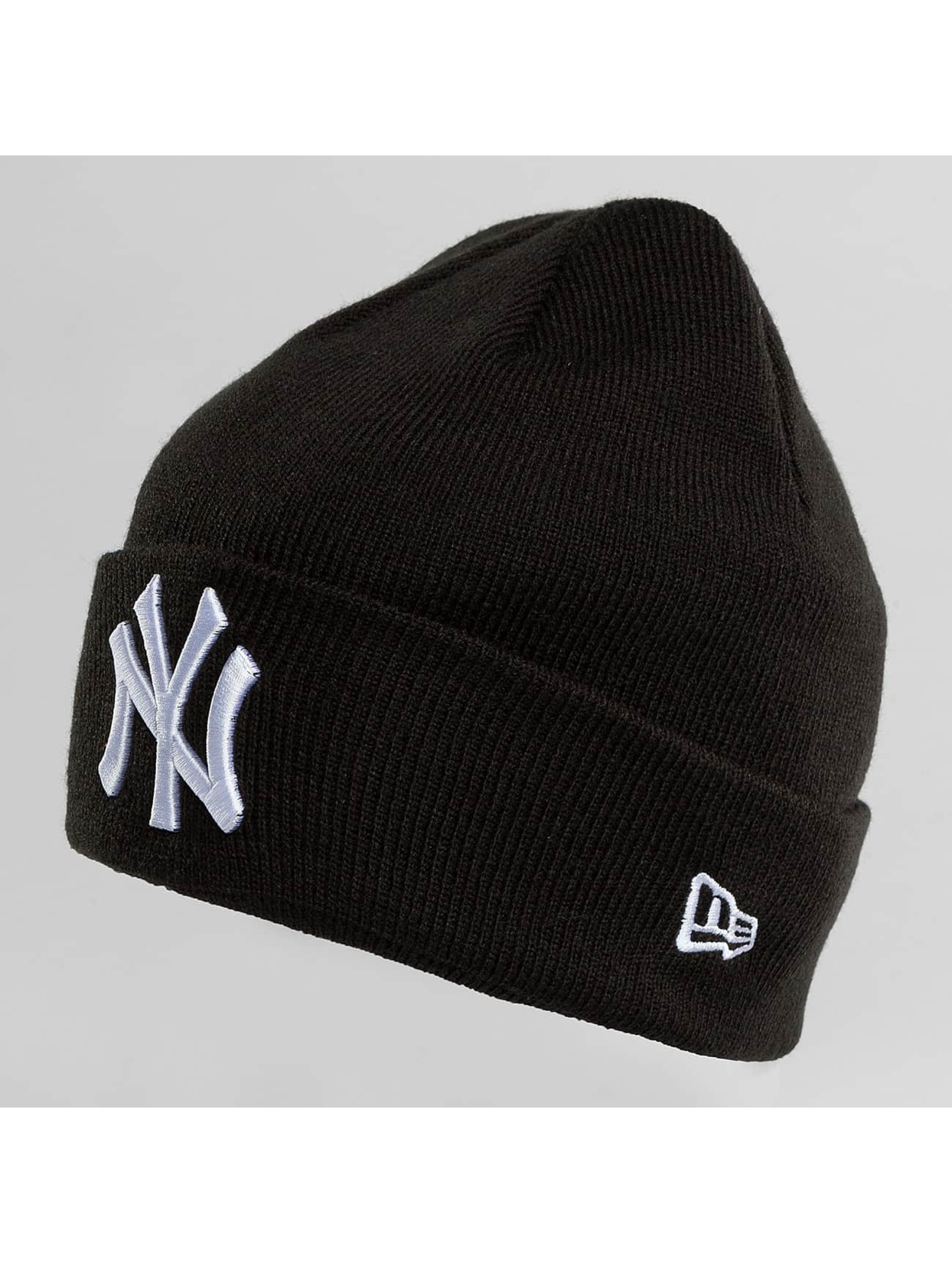 New Era Beanie New Era Essential Cuff NY Yankees Beanie zwart