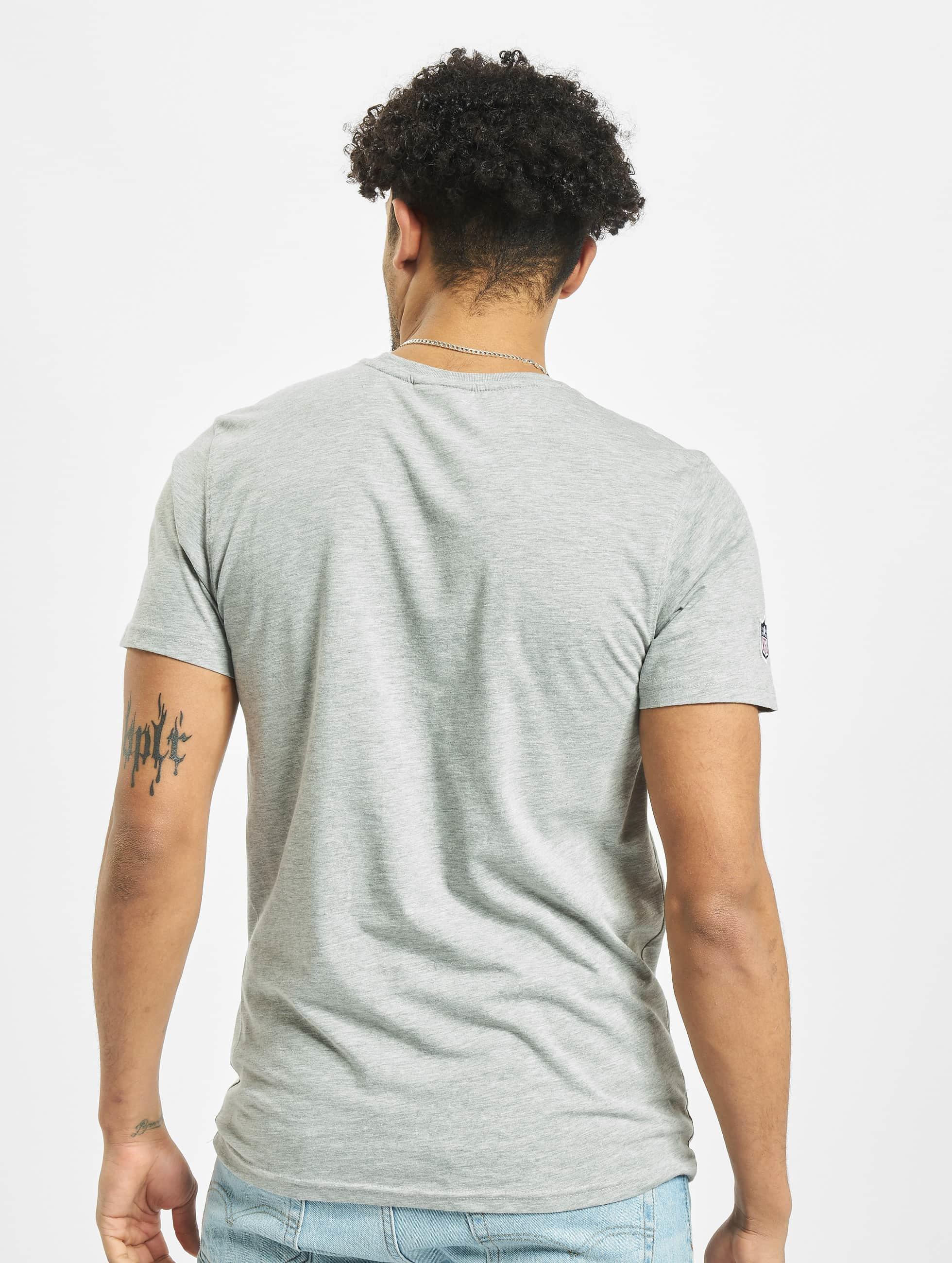 New Era Camiseta Team Logo Green Bay Packers gris
