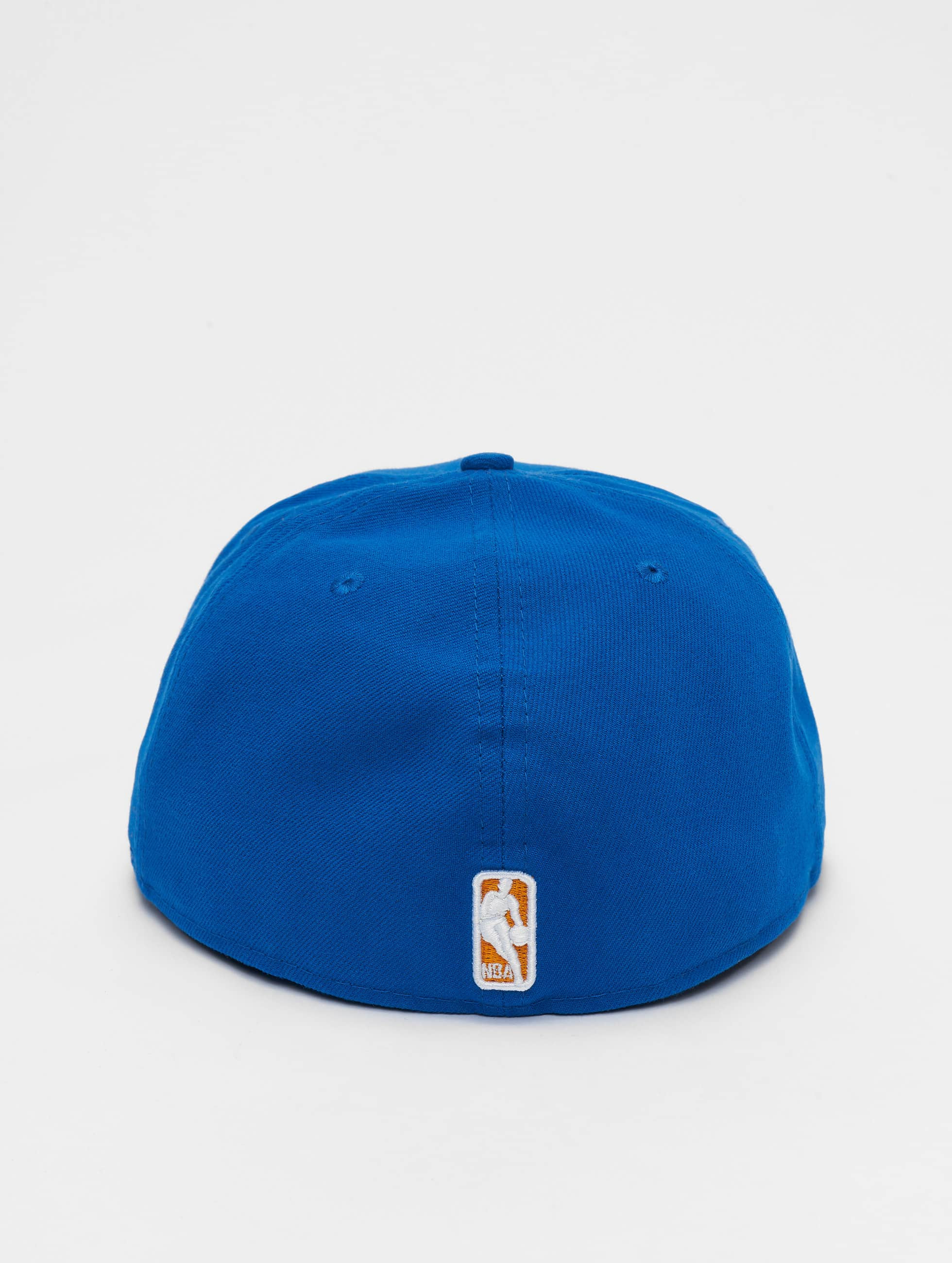 New Era Casquette Fitted NBA Basic NY Knicks 59Fifty bleu