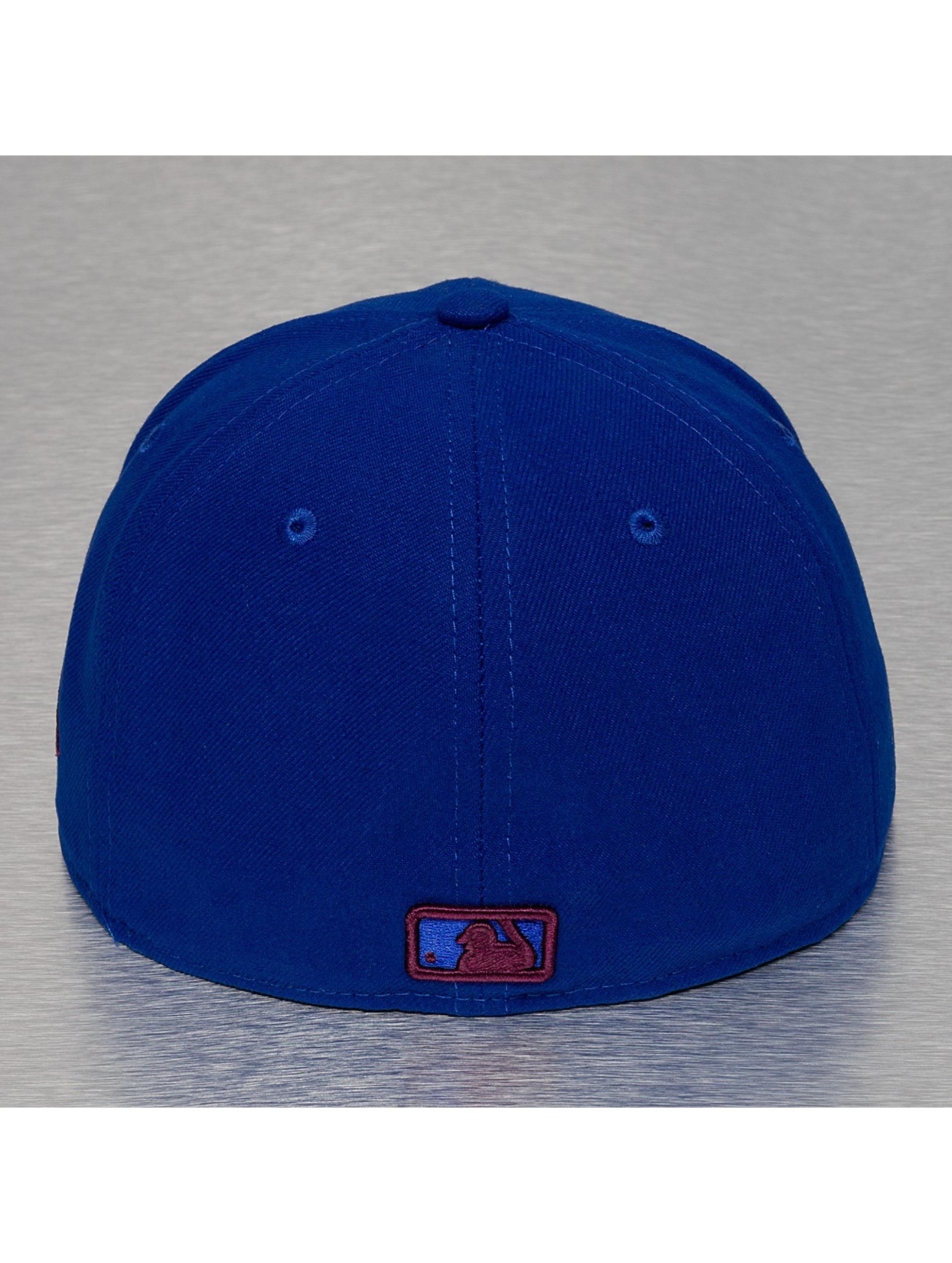 New Era Casquette Fitted Team Filling Chicago Cubs bleu