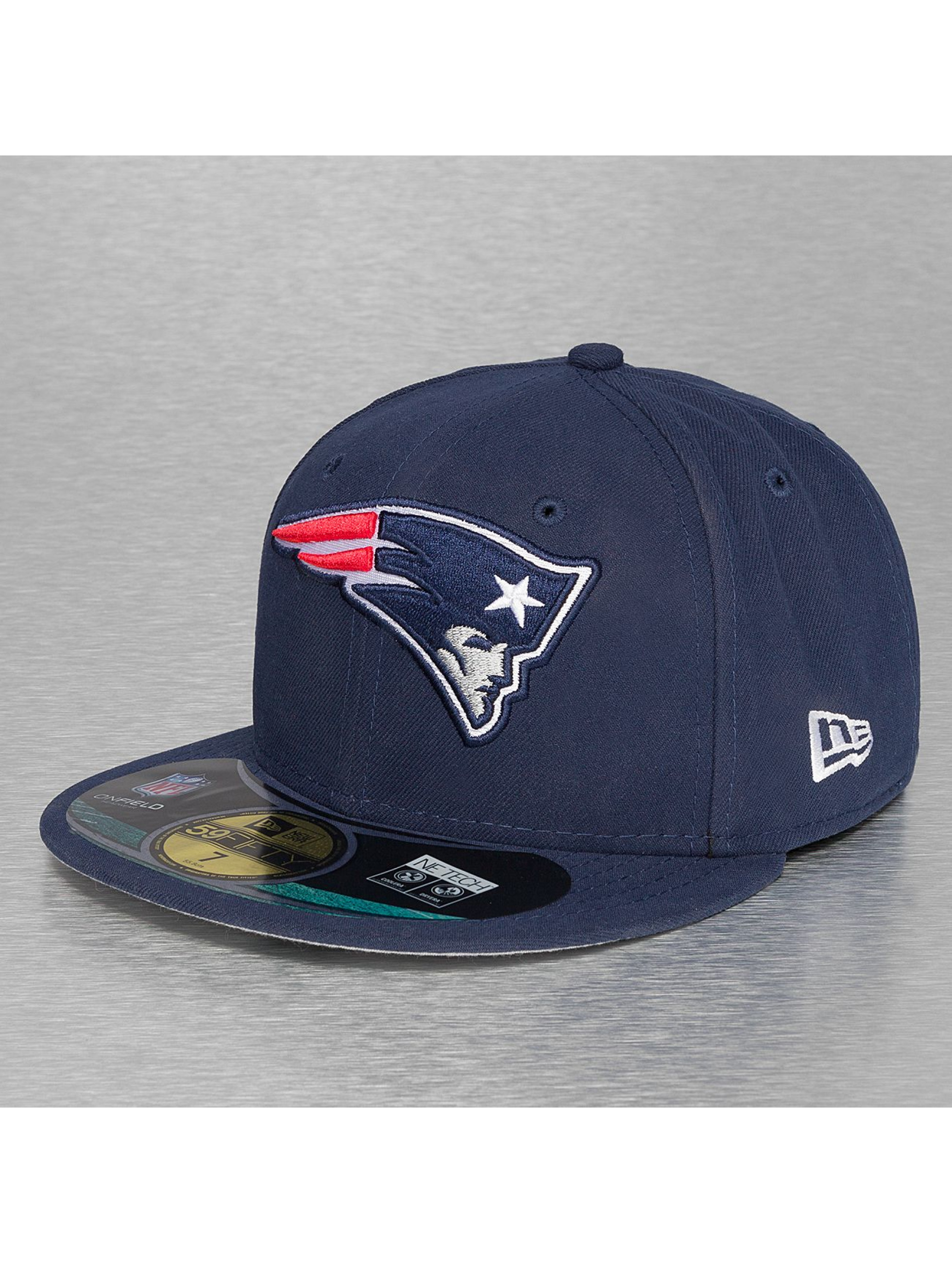 New Era Casquette Fitted NFL On Field New England Patriots 59Fifty bleu