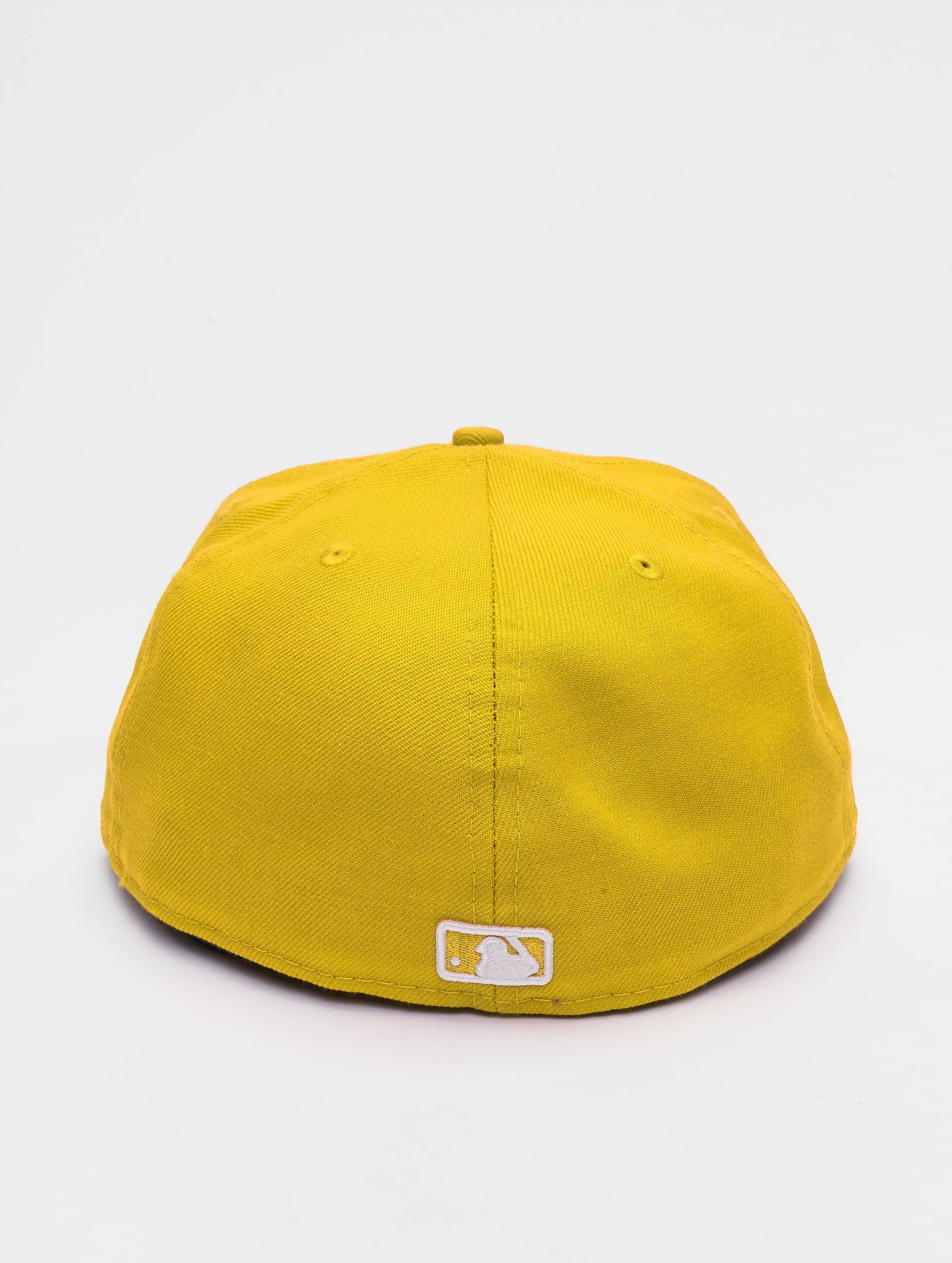 New Era Casquette Fitted MLB Basic NY Yankees 59Fifty jaune