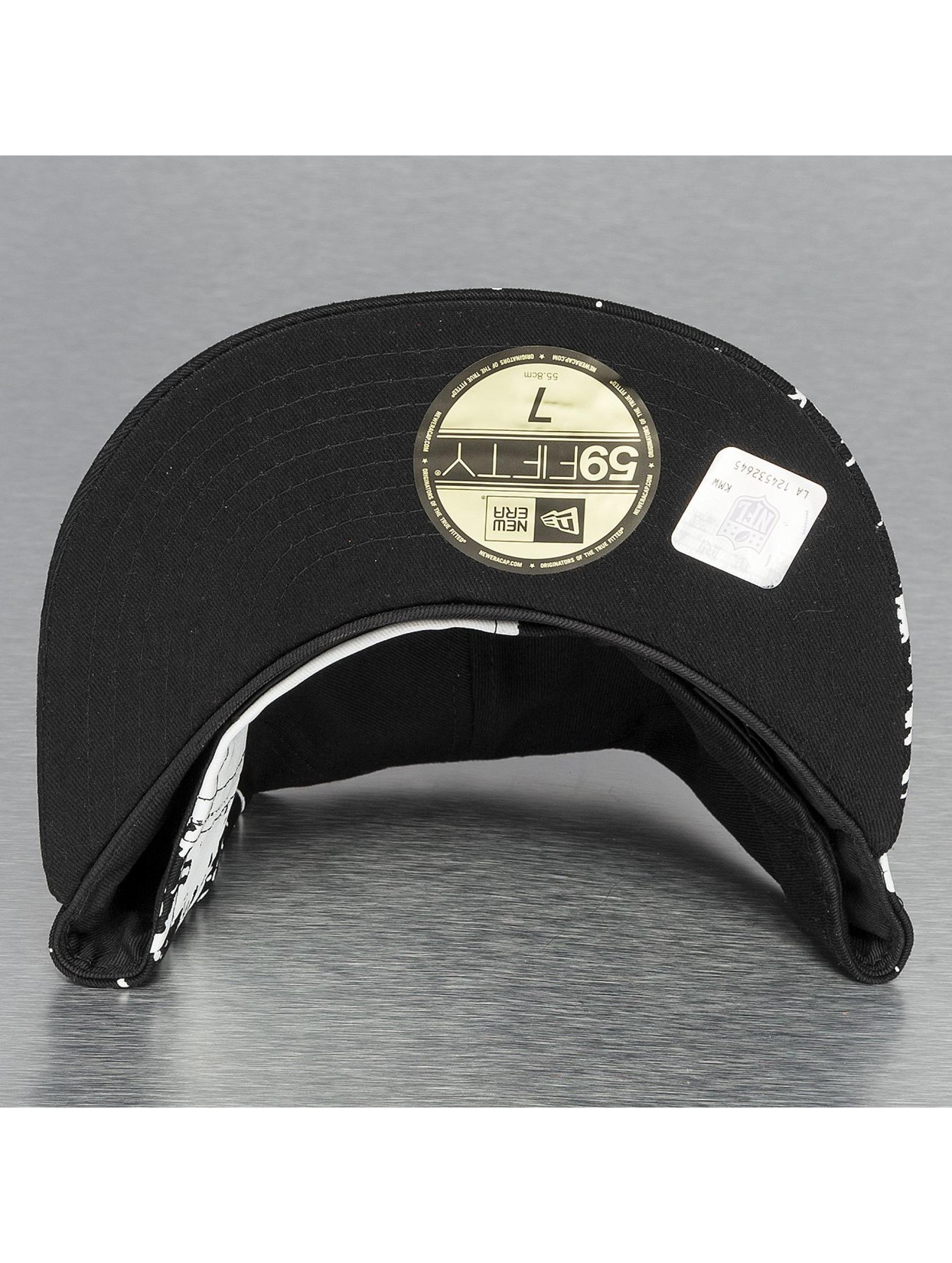 New Era Casquette Fitted Splatways Flawless Oakland Raiders 59Fifty noir