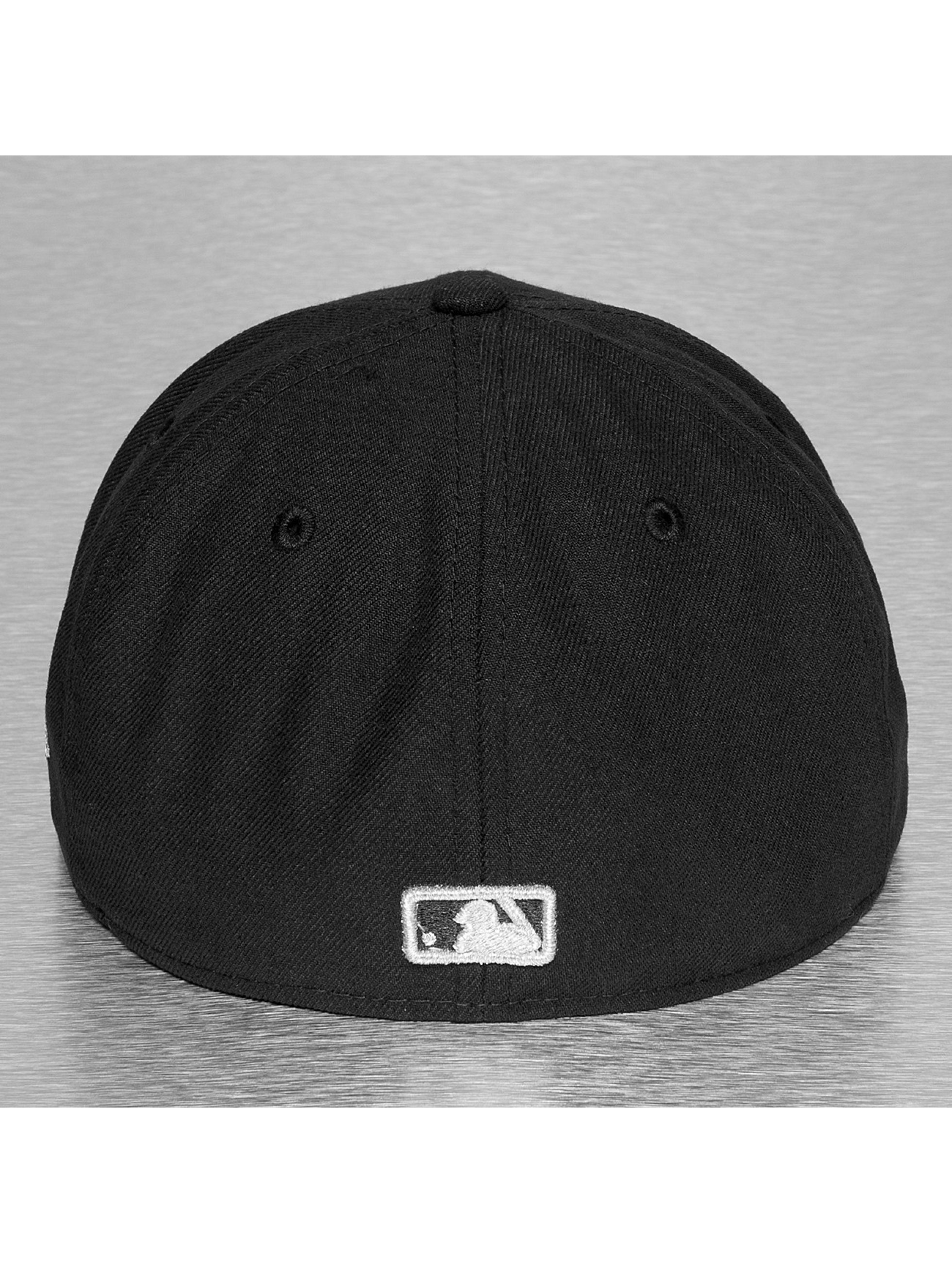 New Era Casquette Fitted Fitted Badge NY Yankees noir