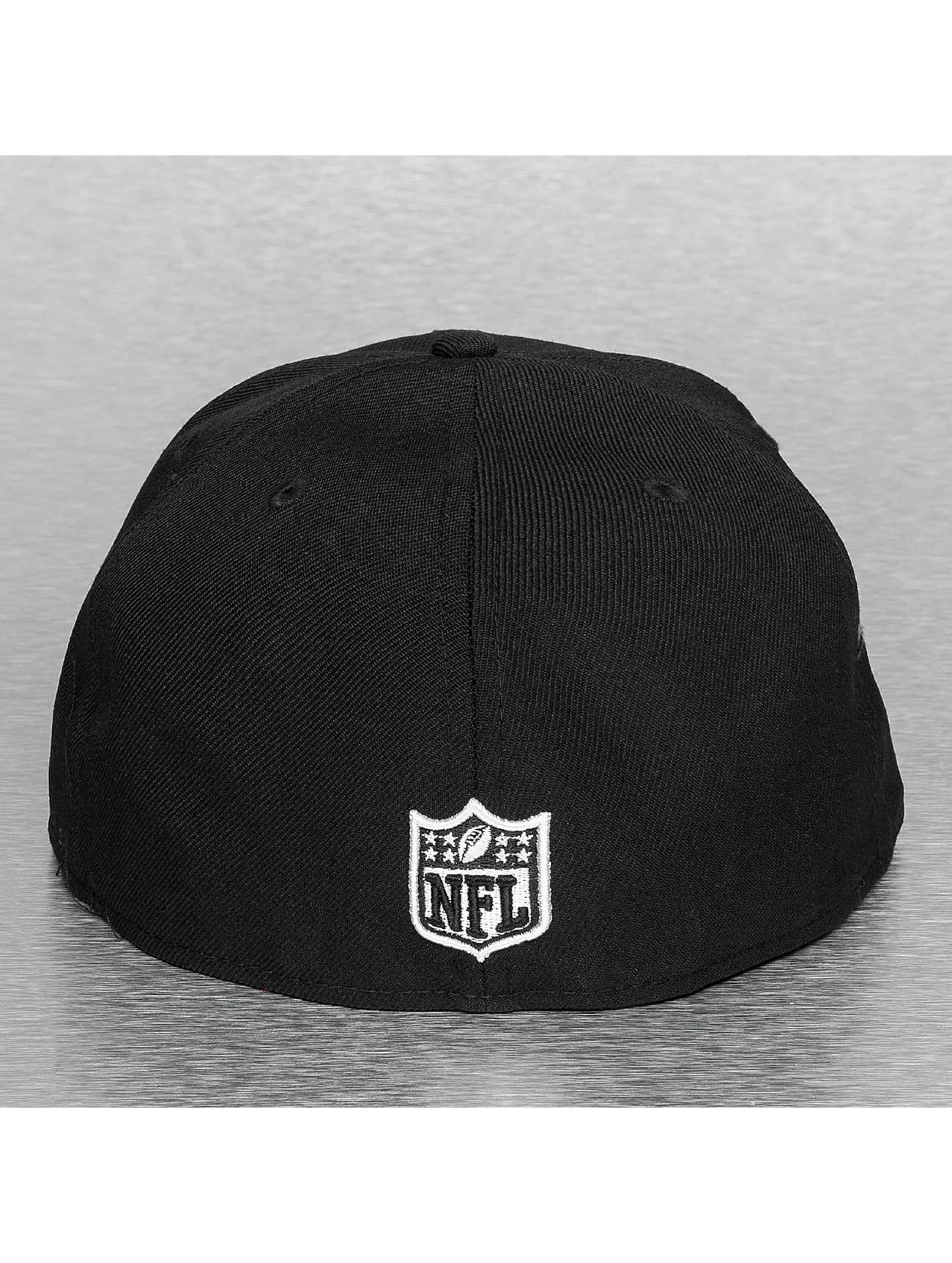 New Era Casquette Fitted Carolina Panthers noir