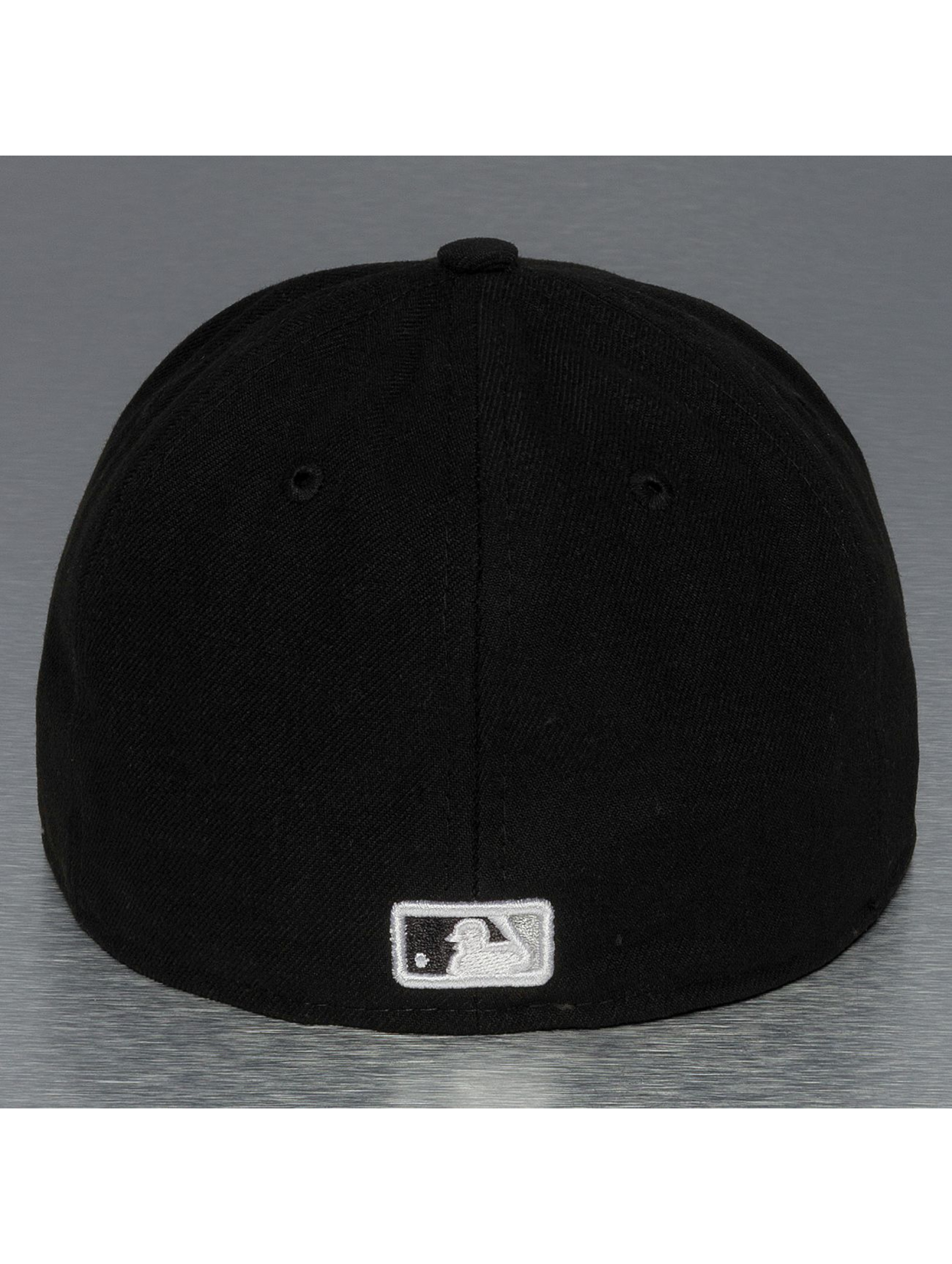 New Era Casquette Fitted UK Authentics Performance Chicago White Sox 59Fifty noir