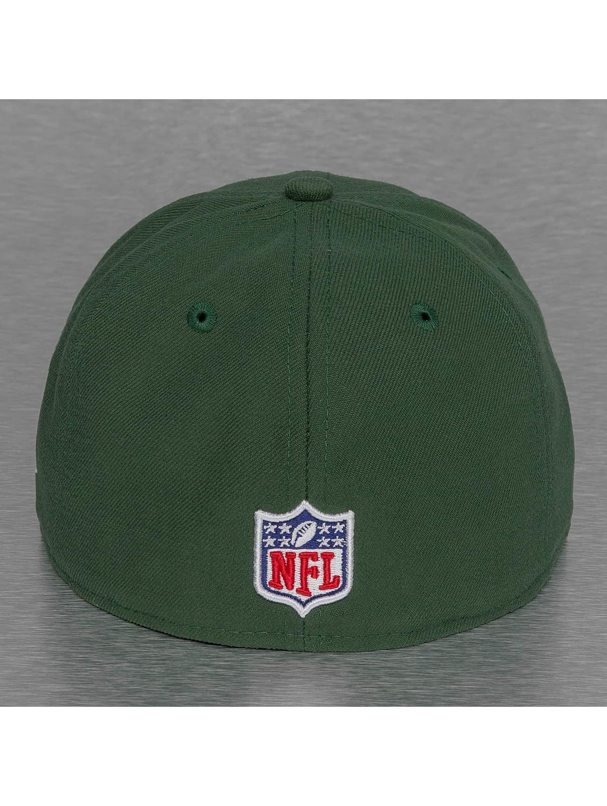 New Era Casquette Fitted NFL Green Bay Packers Sideline vert