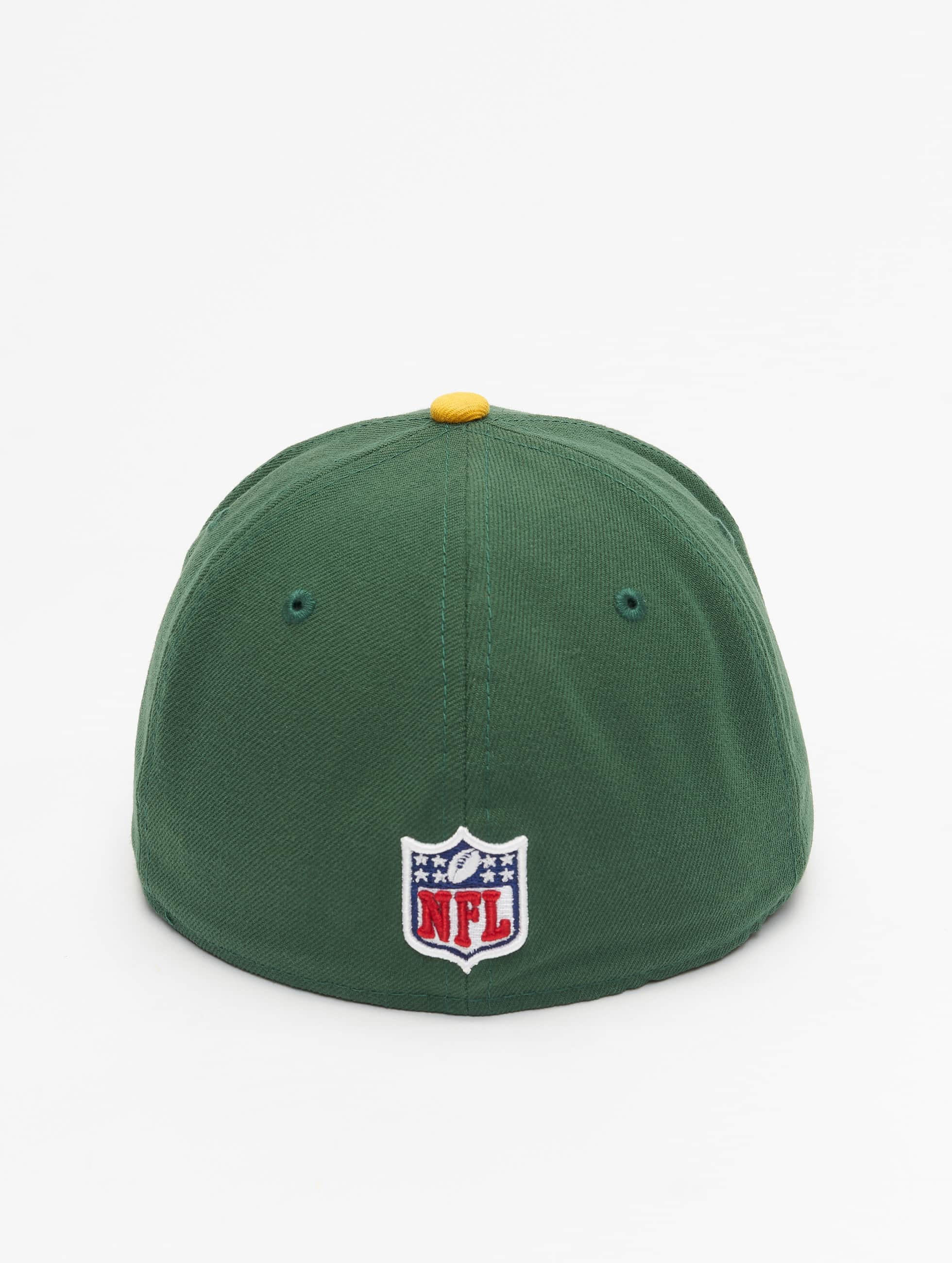 New Era Casquette Fitted NFL On Field Green Bay Packers 59Fifty vert