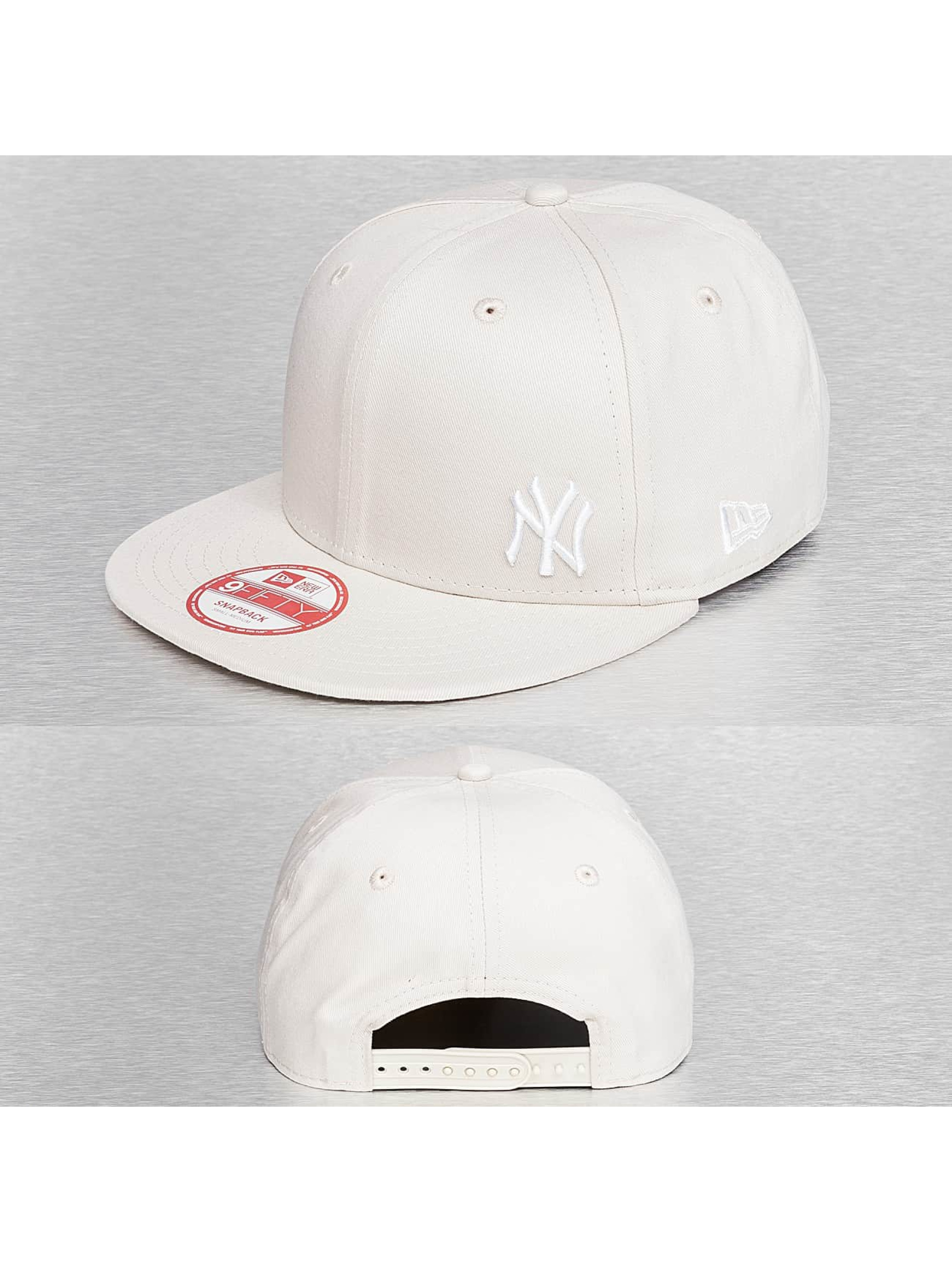 New Era Casquette Snapback & Strapback MLB Flawless NY Yankees beige