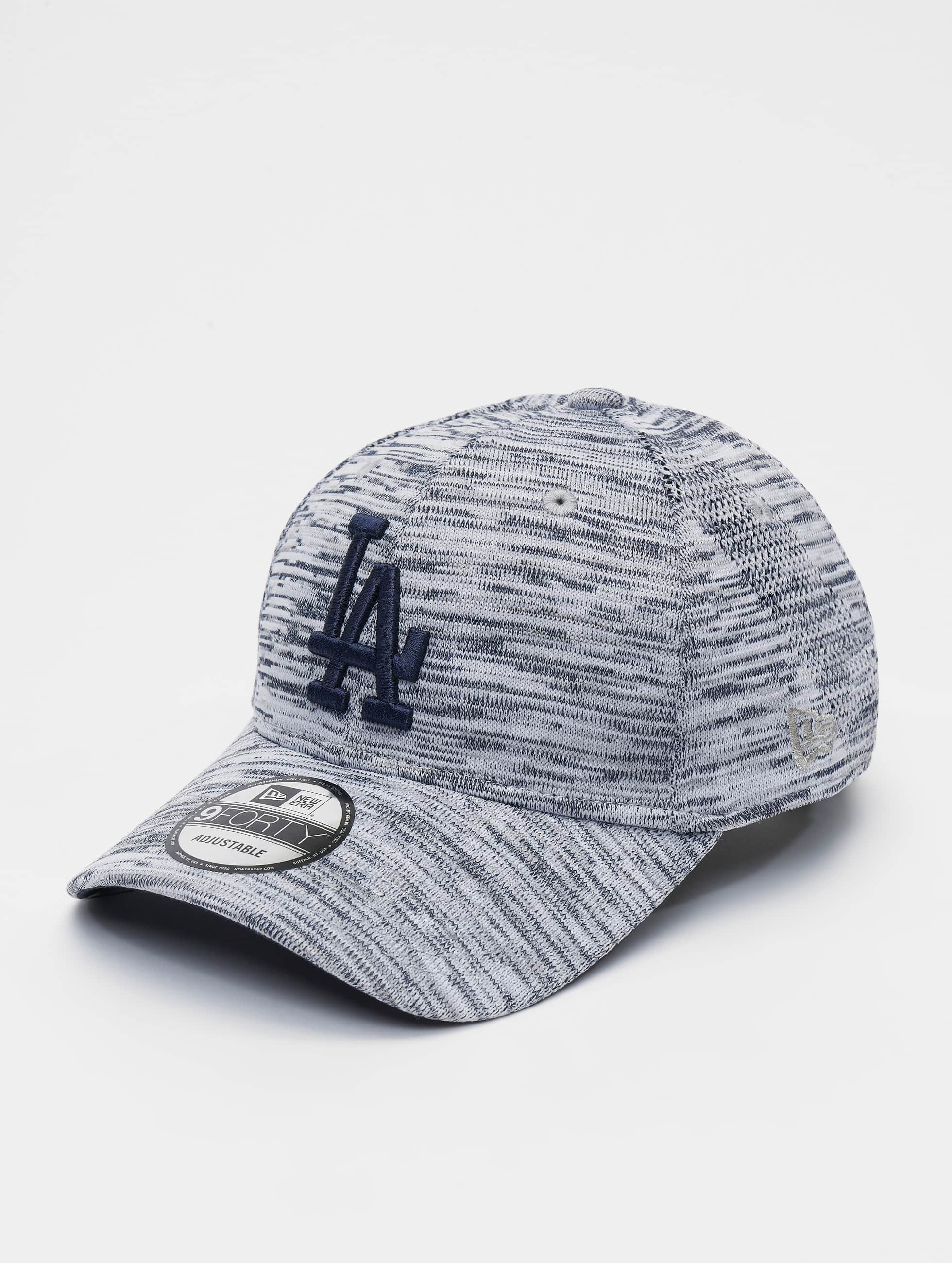 New Era Casquette 9FORTY Engineered Fit L.A Dodgers Noir chin/é