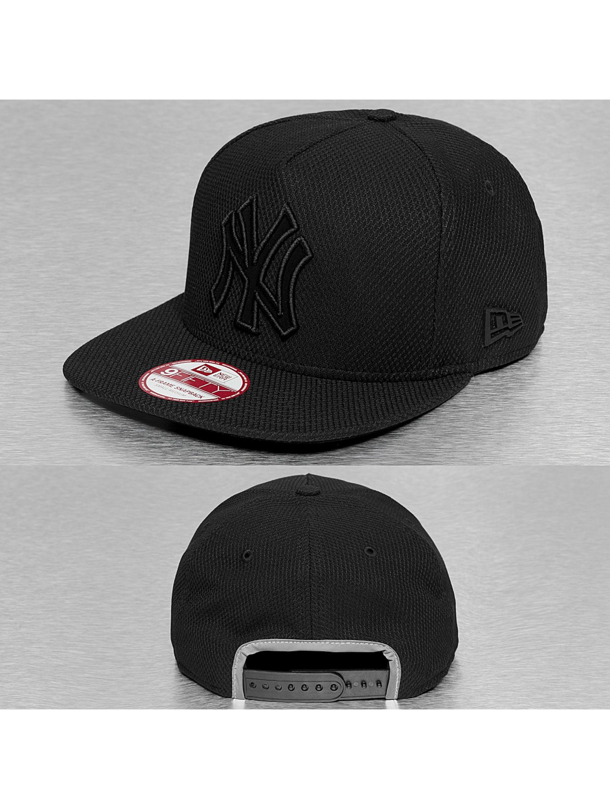 New Era Casquette Snapback & Strapback Diamond Fill NY Yankees noir