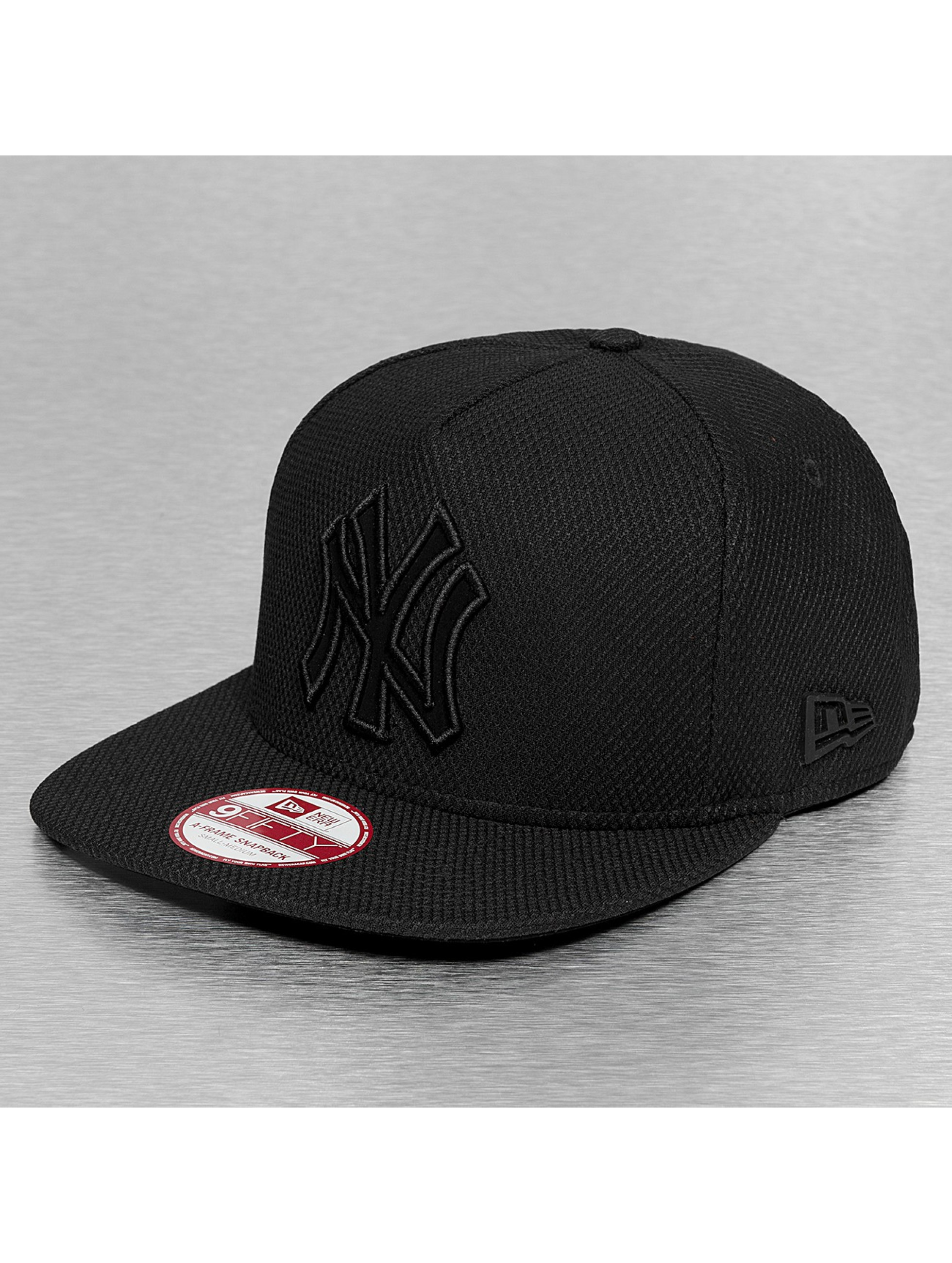 New Era Casquette Snapback & Strapback Diamond Fill NY Yankees noir