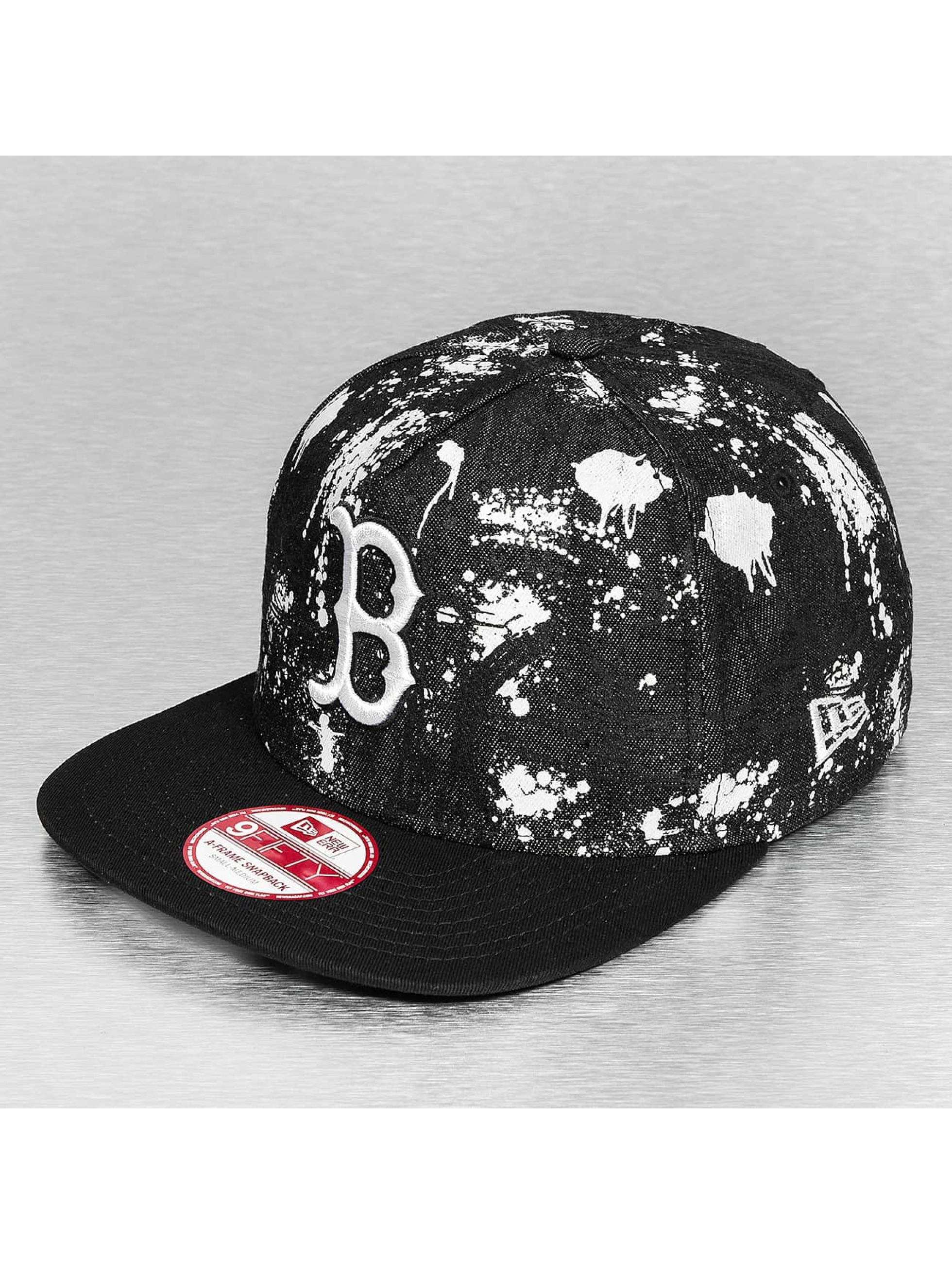 New Era Casquette Snapback & Strapback SA Crown Boston Red Sox noir
