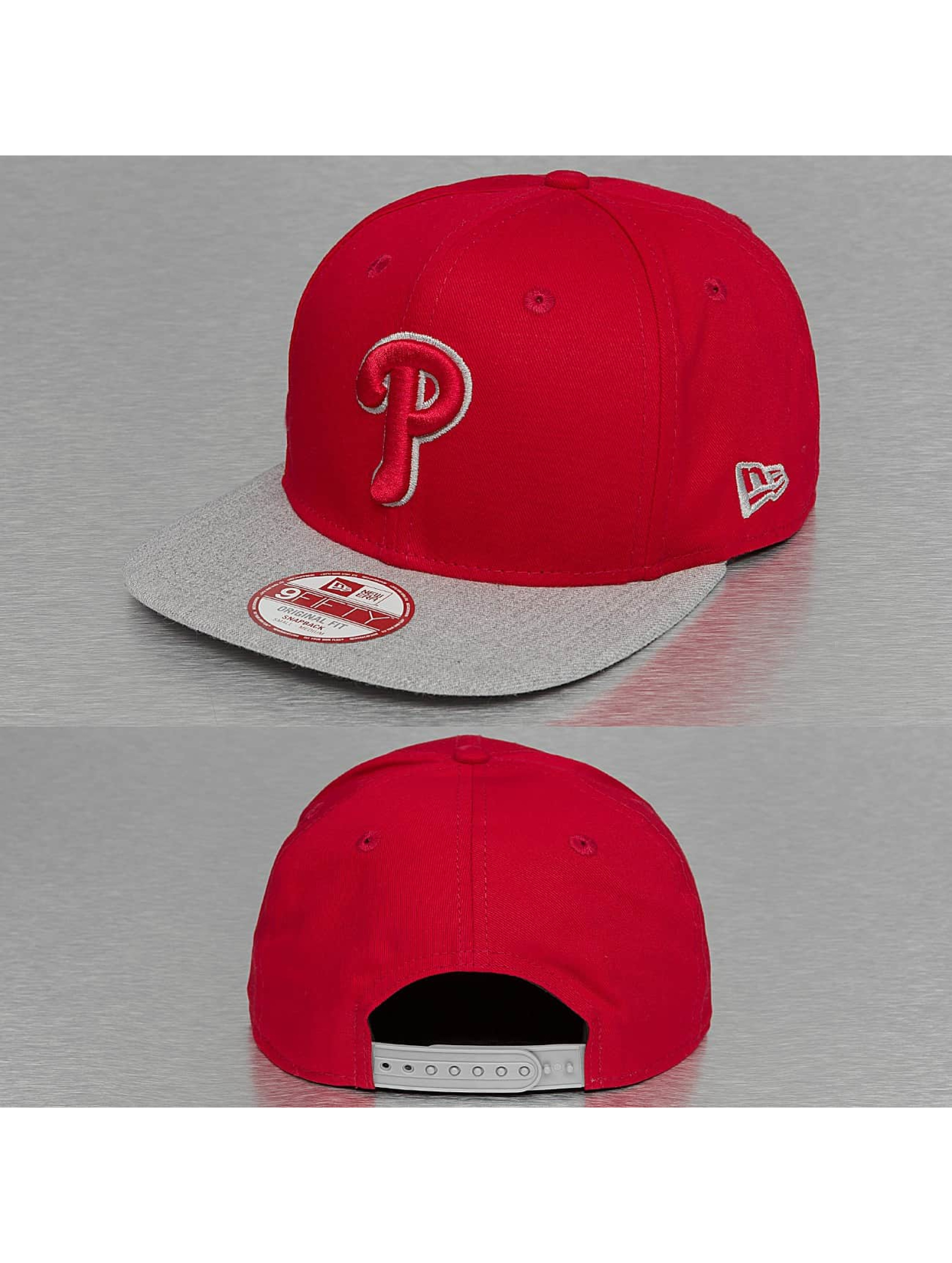 New Era Casquette Snapback & Strapback Tonal Fill Philadelphia Phillie 9Fifty rouge
