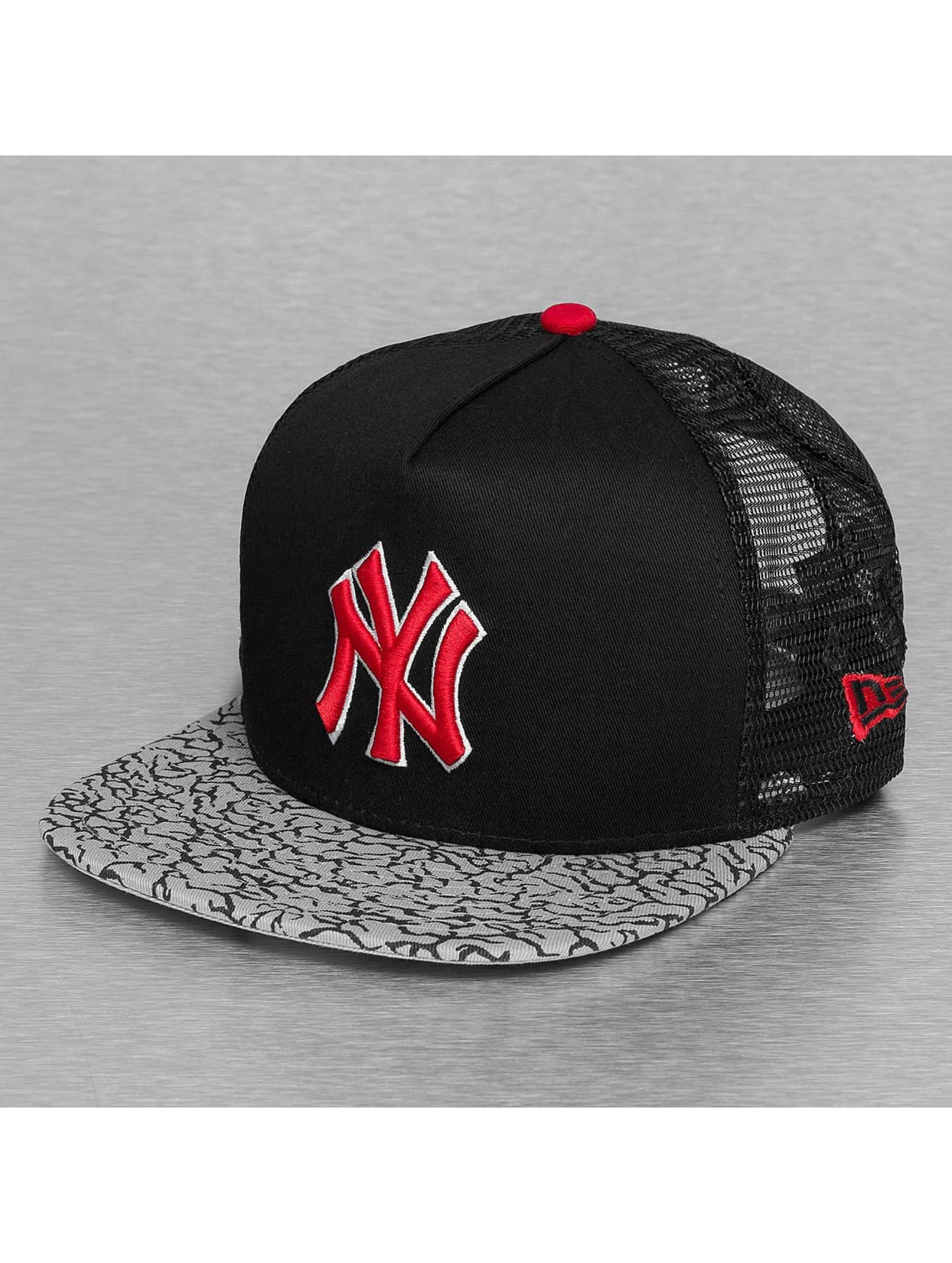 New Era Casquette Trucker mesh Elephant Hook NY Yankees noir
