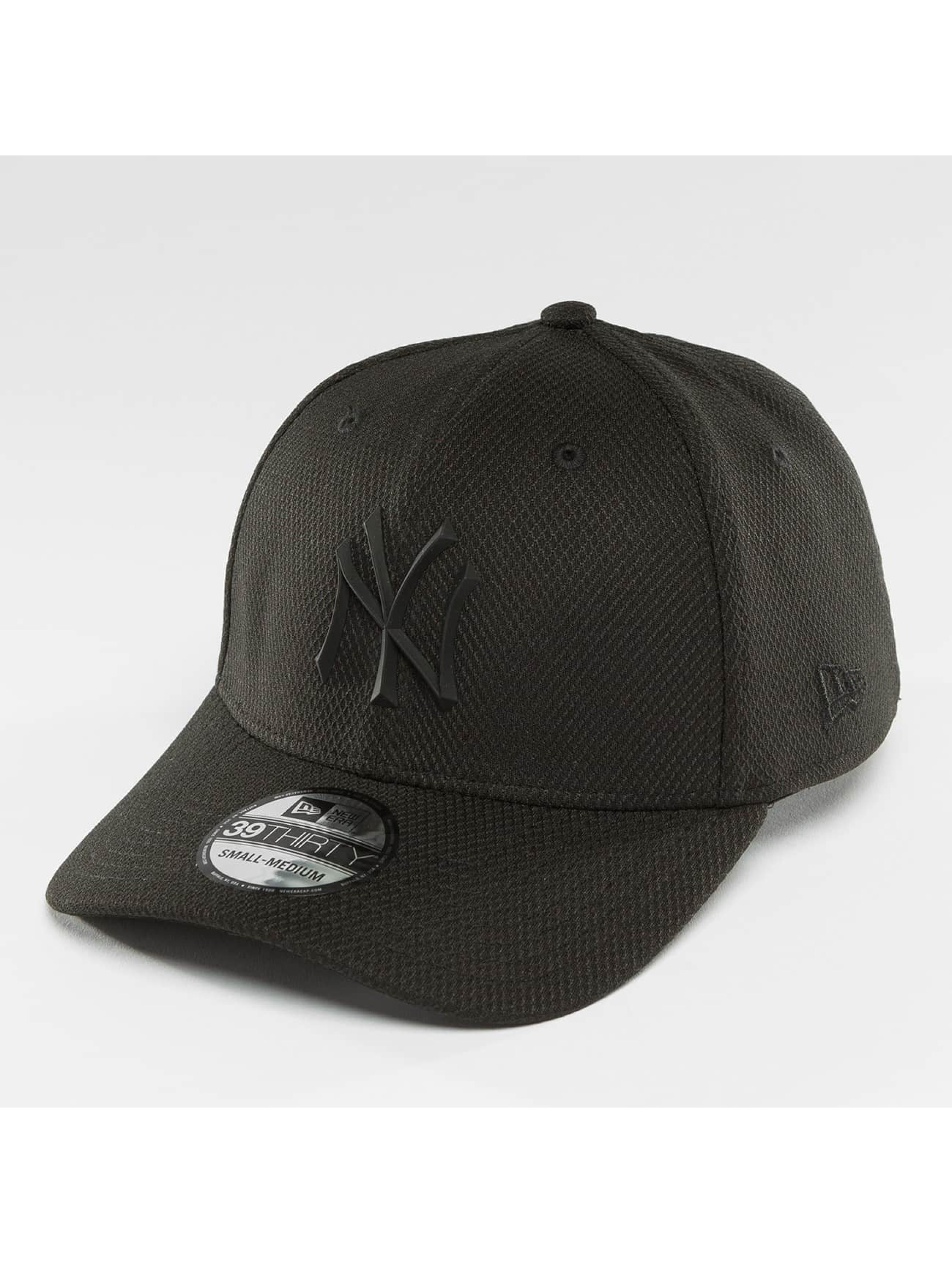 New Era Fitted Cap Rubber Prime NY Yankees èierna