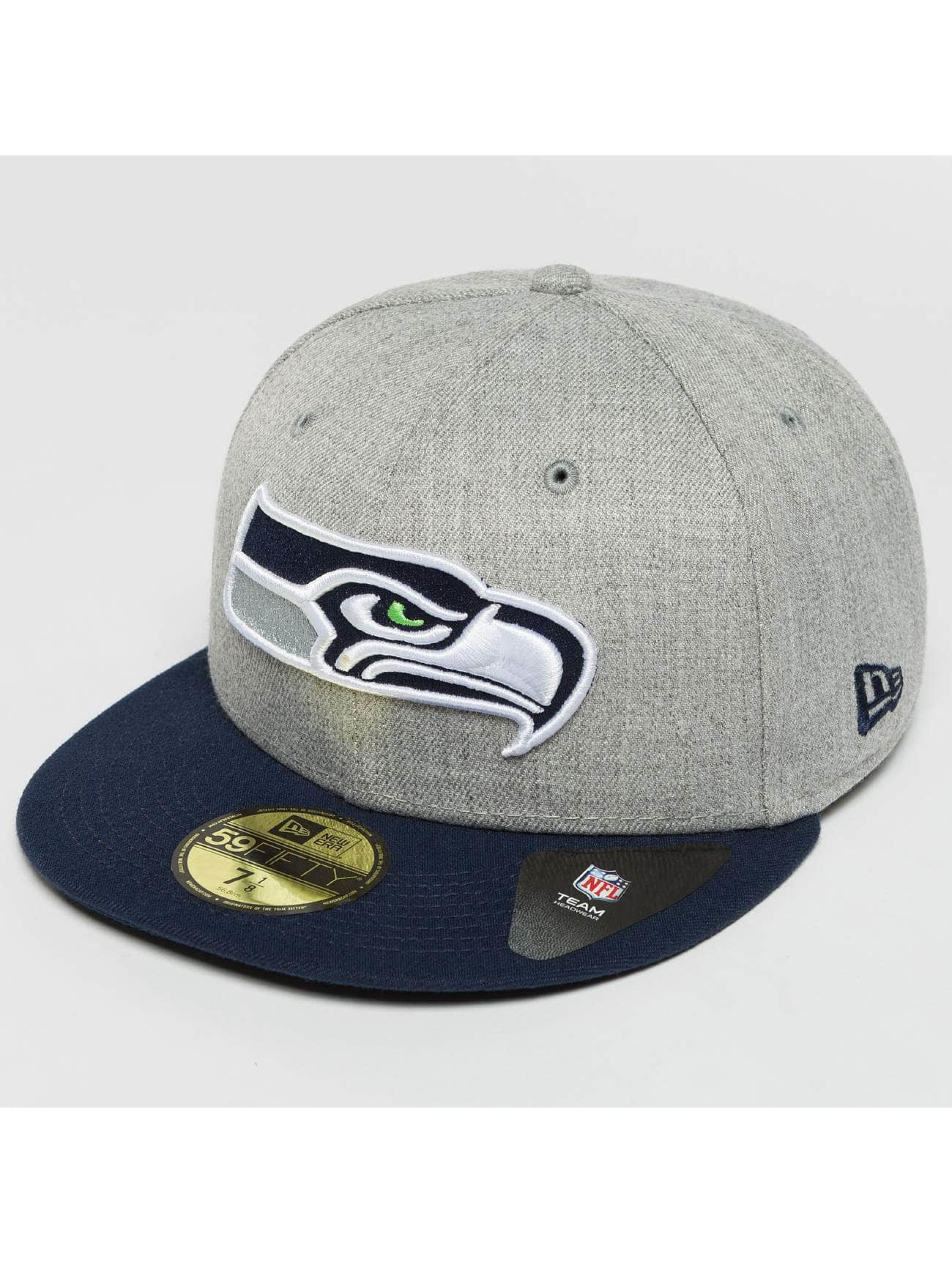 New Era Fitted Cap Seattle Seahawks 59Fifty šedá