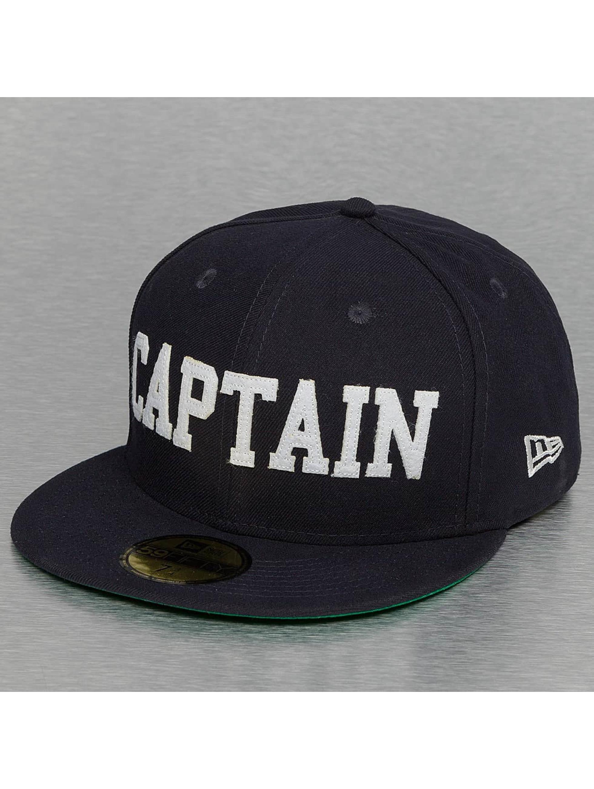 New Era Fitted Cap AKA 59Fifty Captain blå