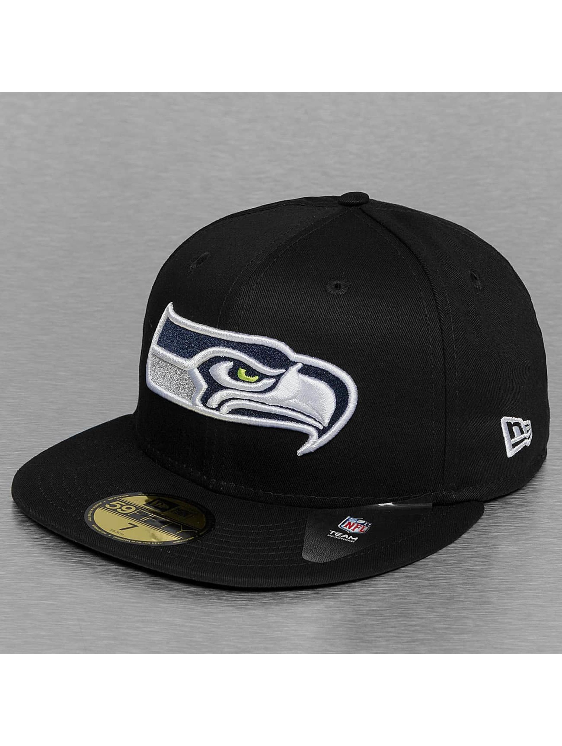 New Era Fitted Cap Black Base Seattle Seahawks black