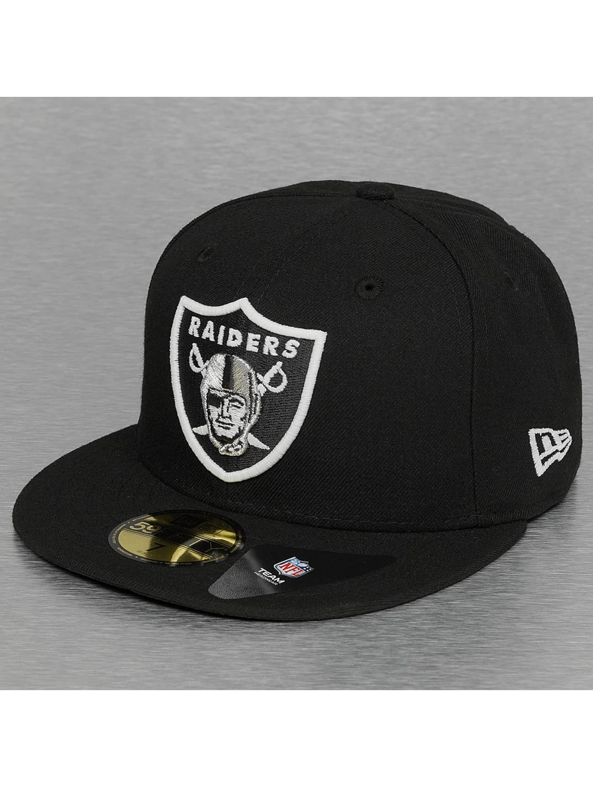 New Era Fitted Cap Glow In The Dark Oakland Raiders black