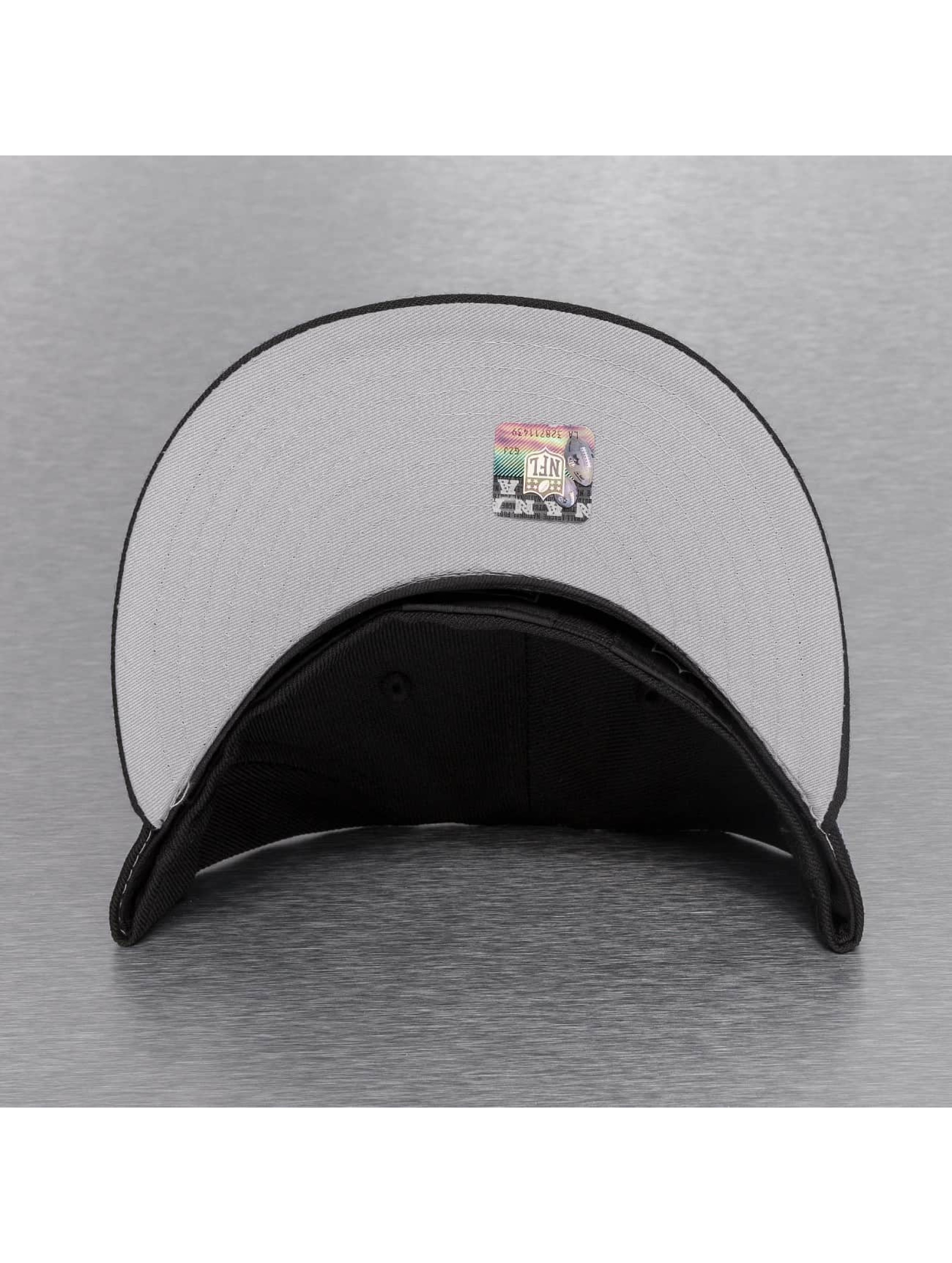 New Era Fitted Cap On Field 15 Sideline Oakland Raiders black