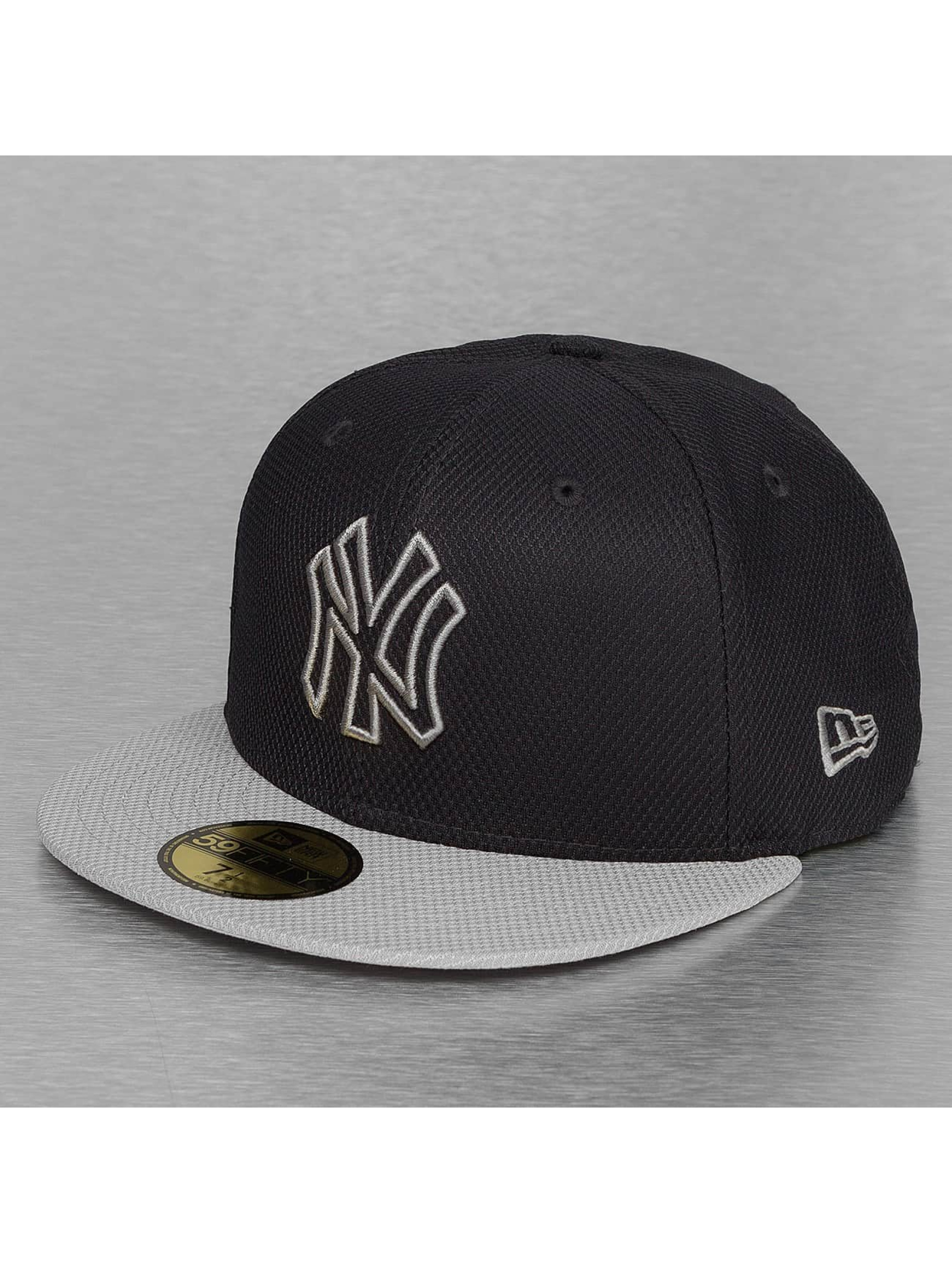 New Era Fitted Cap Diamond Basic New York Yankees black