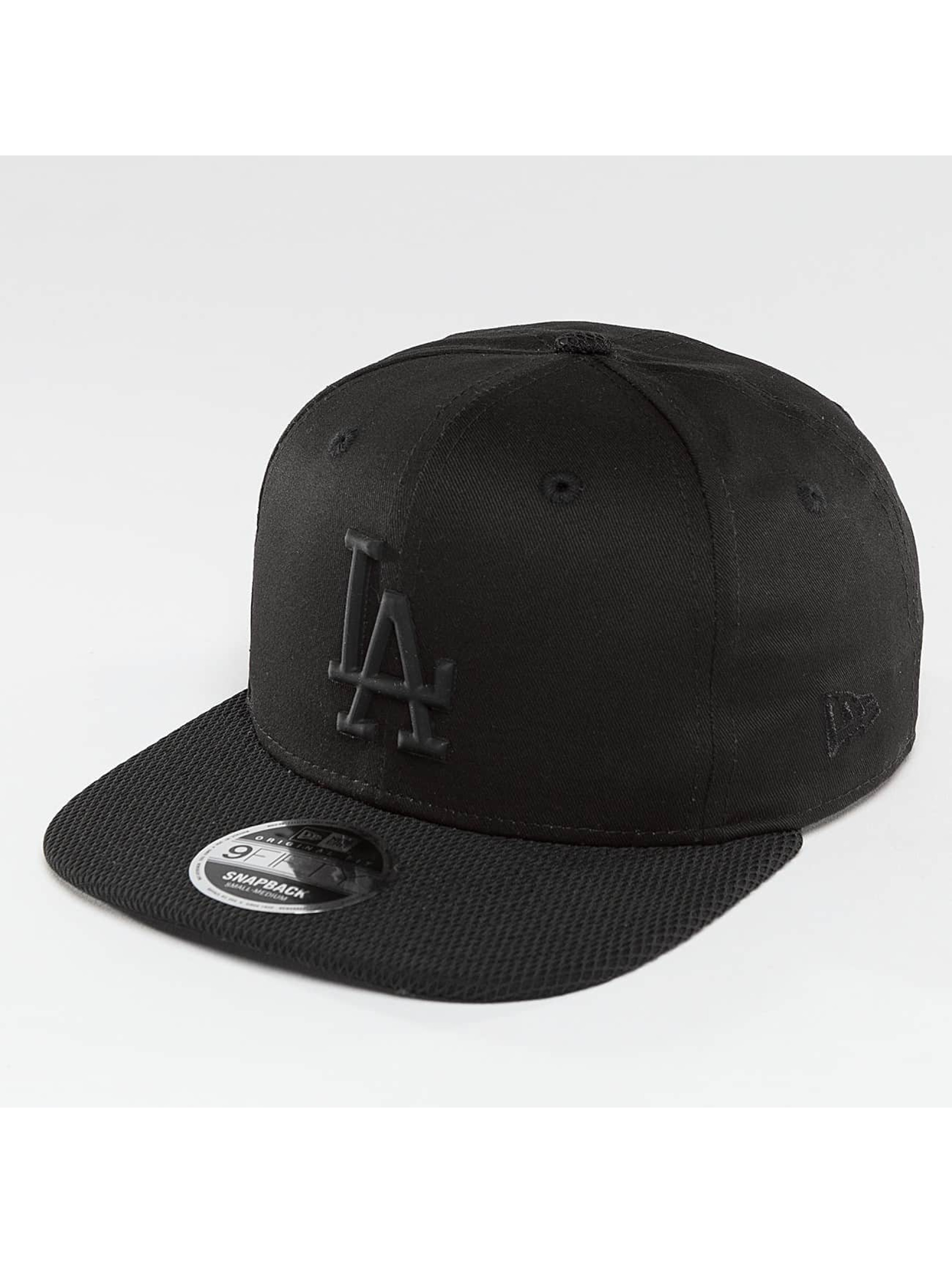 New Era Fitted Cap Rubber Prime LA Dodgers black