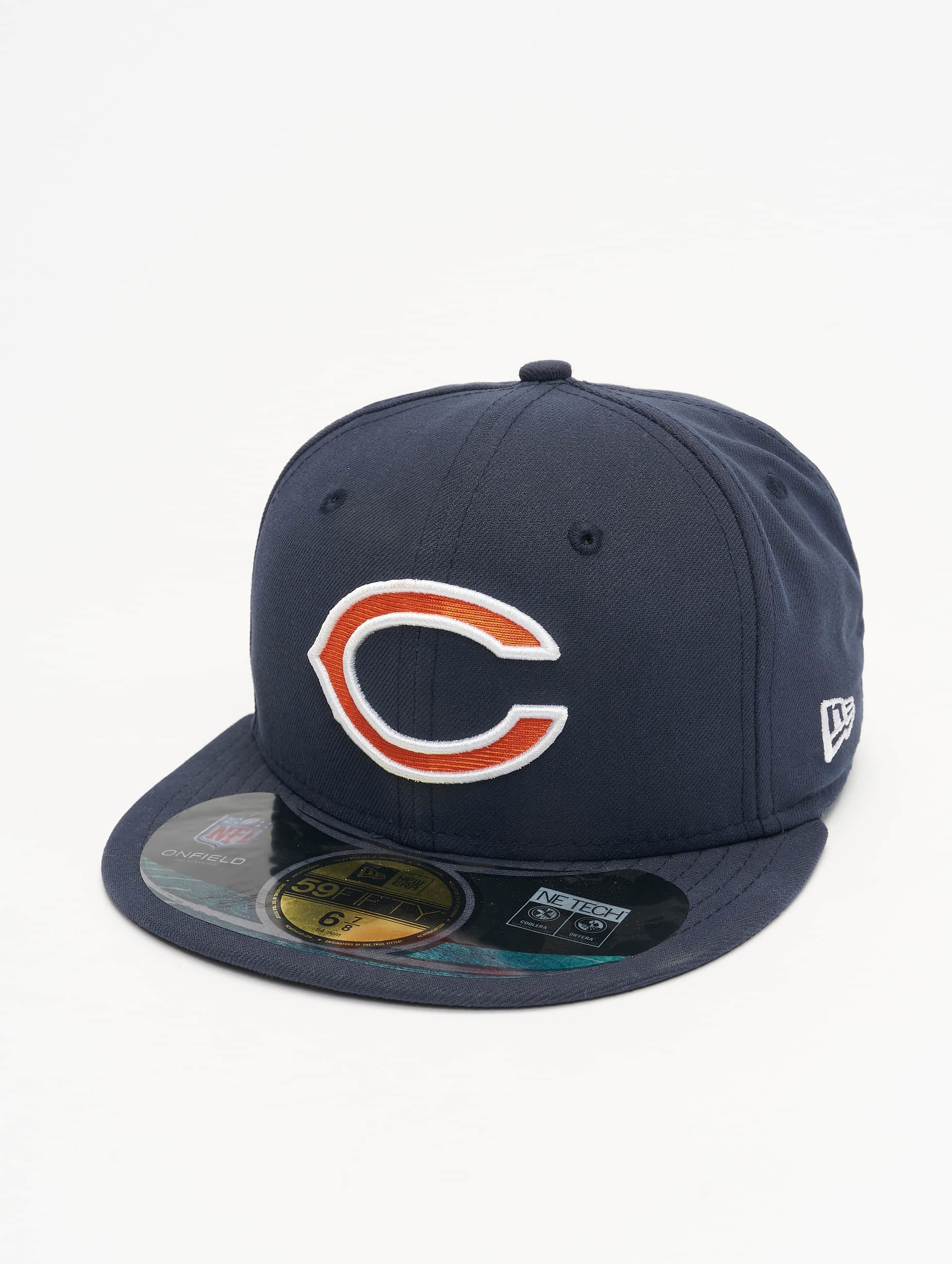 New Era Fitted Cap NFL On Field Chicago Bears 59Fifty blau