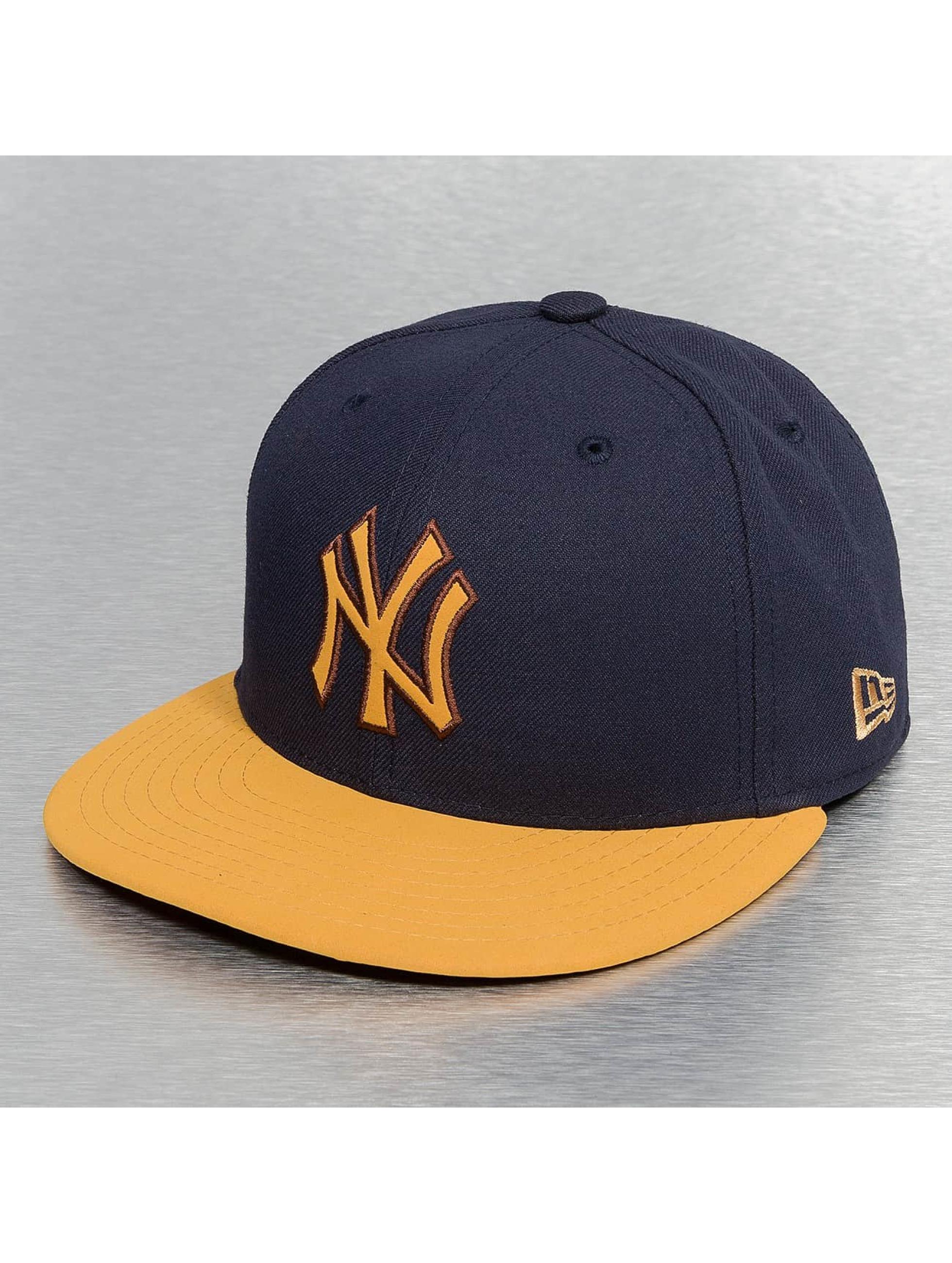 New Era Fitted Cap Buck Tone blauw