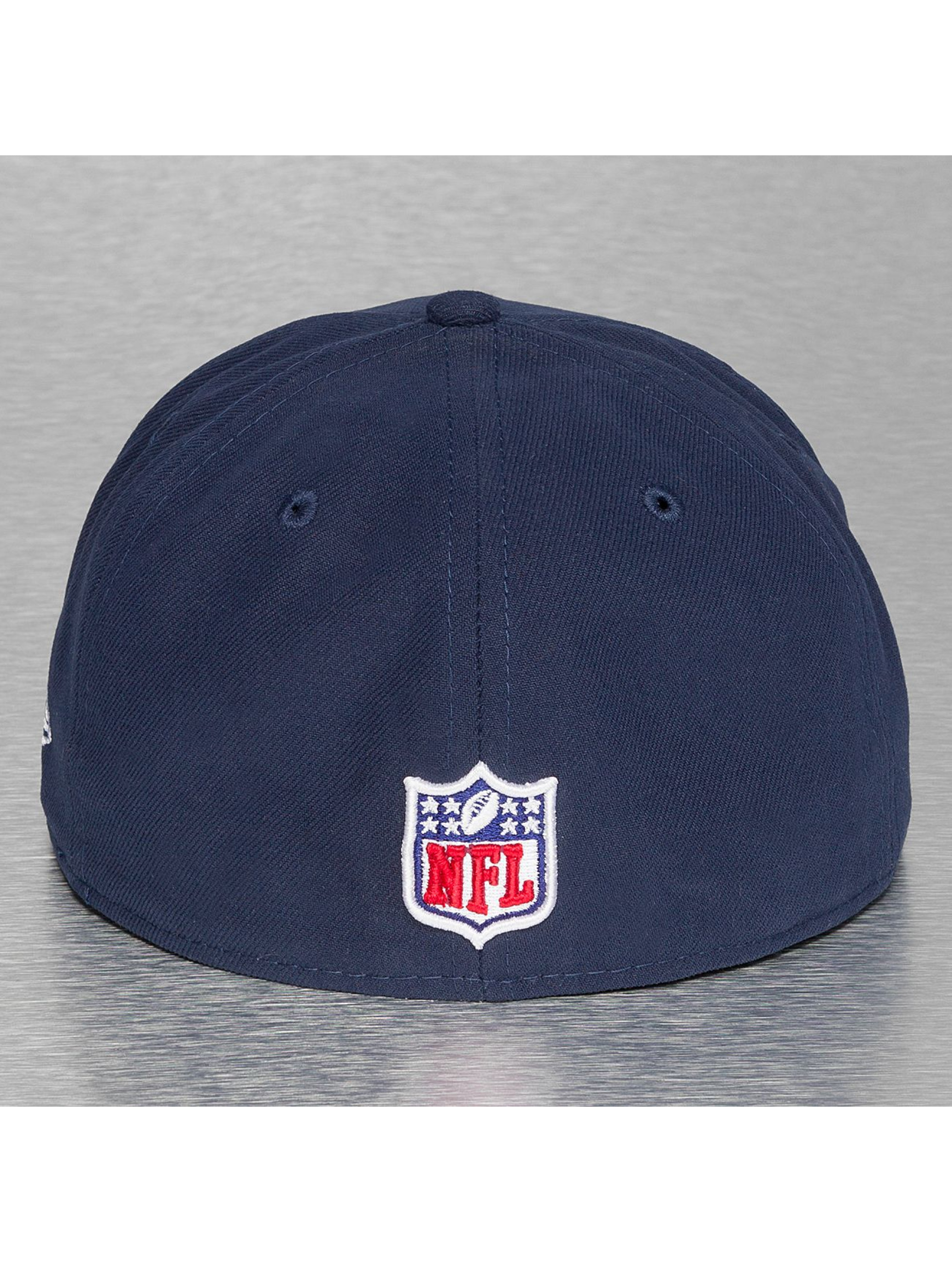 New Era Fitted Cap NFL On Field New England Patriots 59Fifty blauw