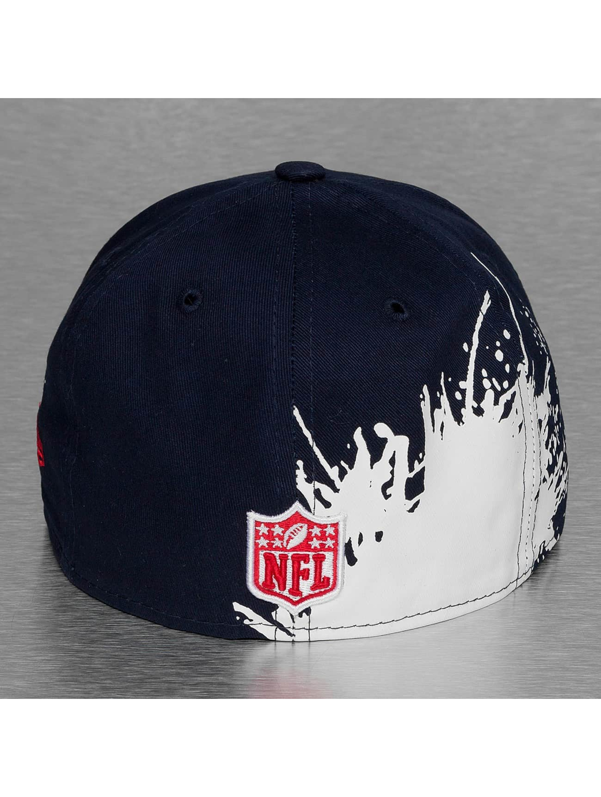 New Era Fitted Cap Splatways New England Patriots blue