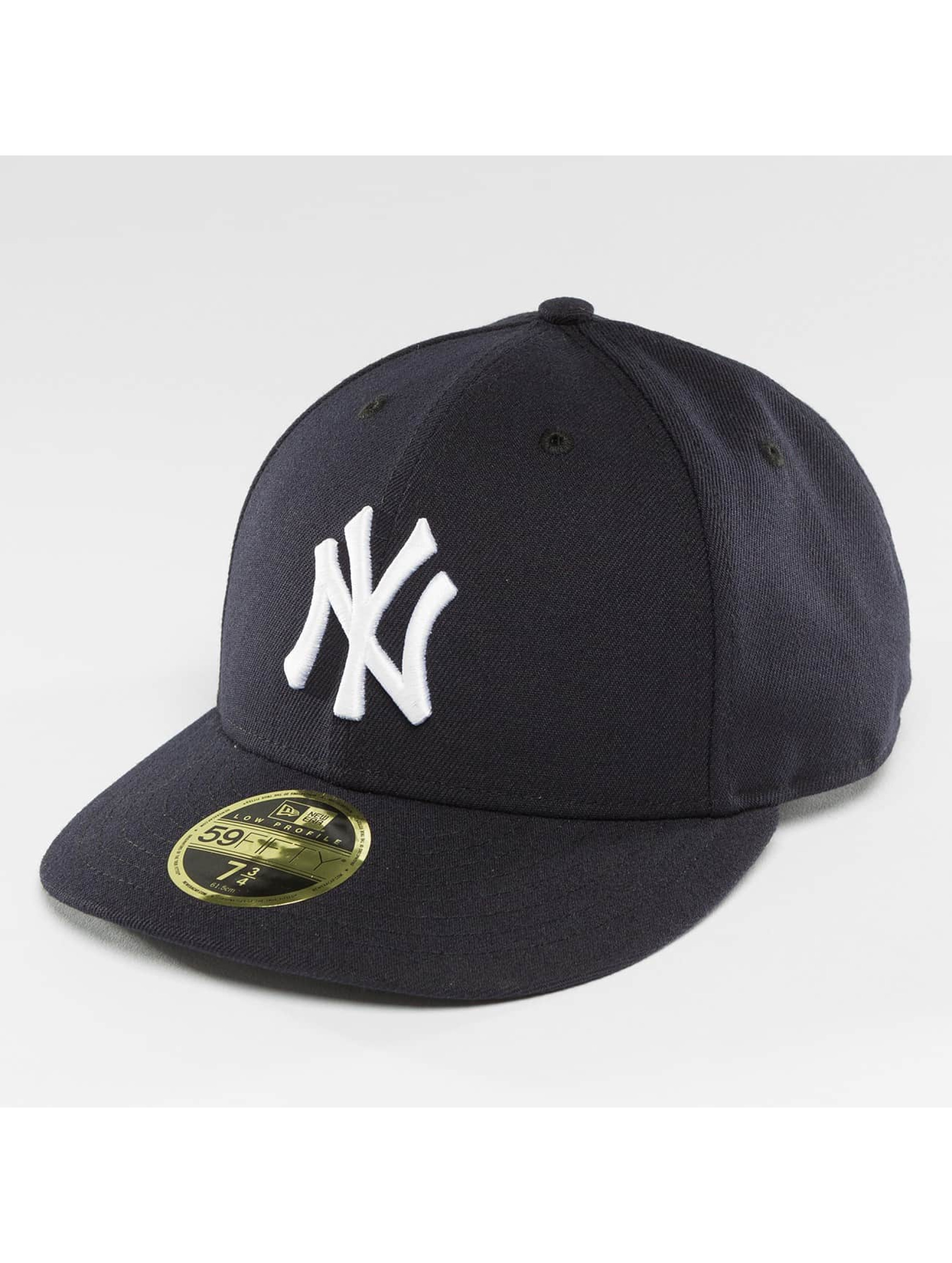 New Era Fitted Cap Authentic Performance Low Crown NY Yankees blue