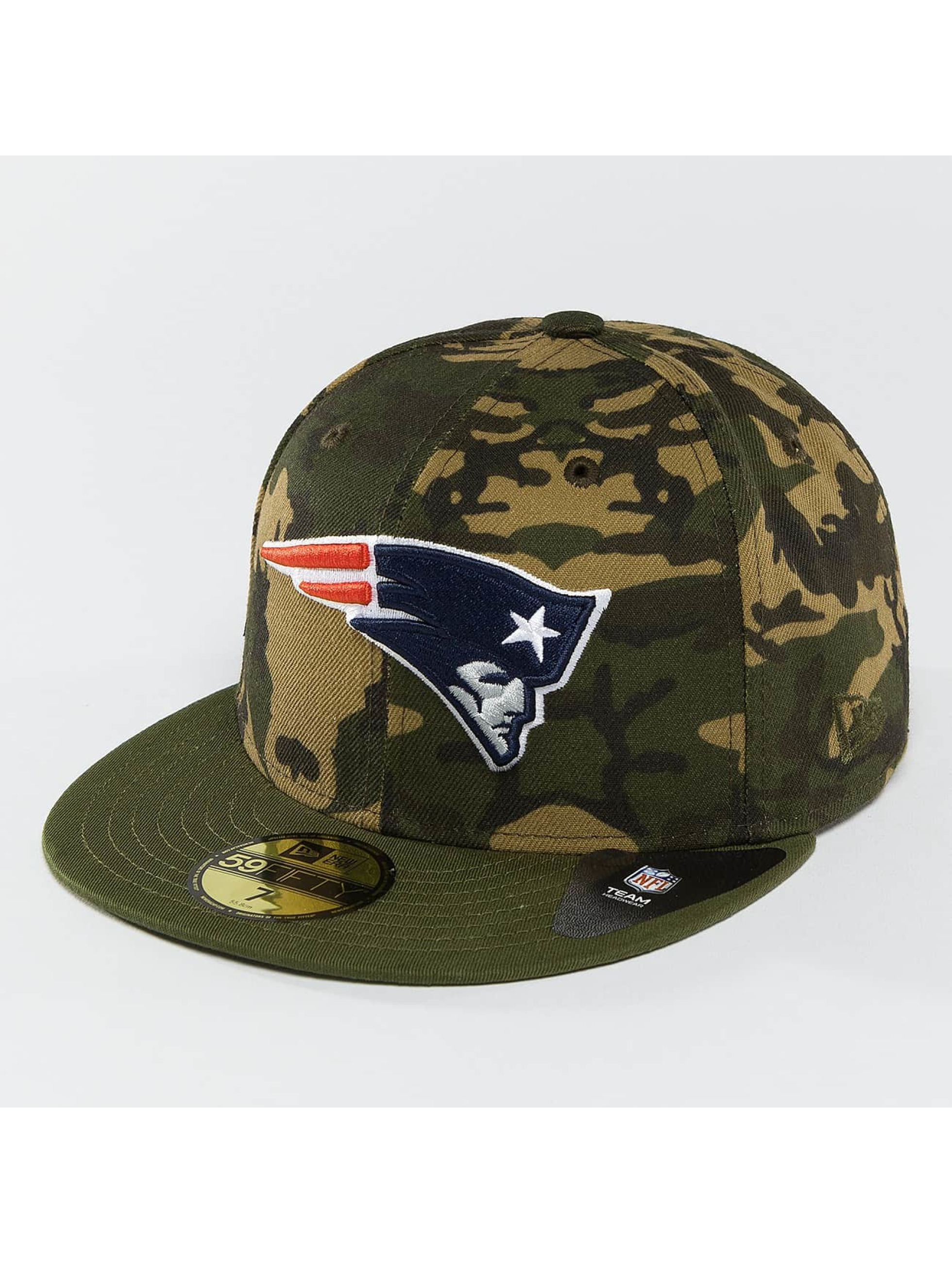 New Era Fitted Cap Camo Team New England Patriots 59Fifty camouflage
