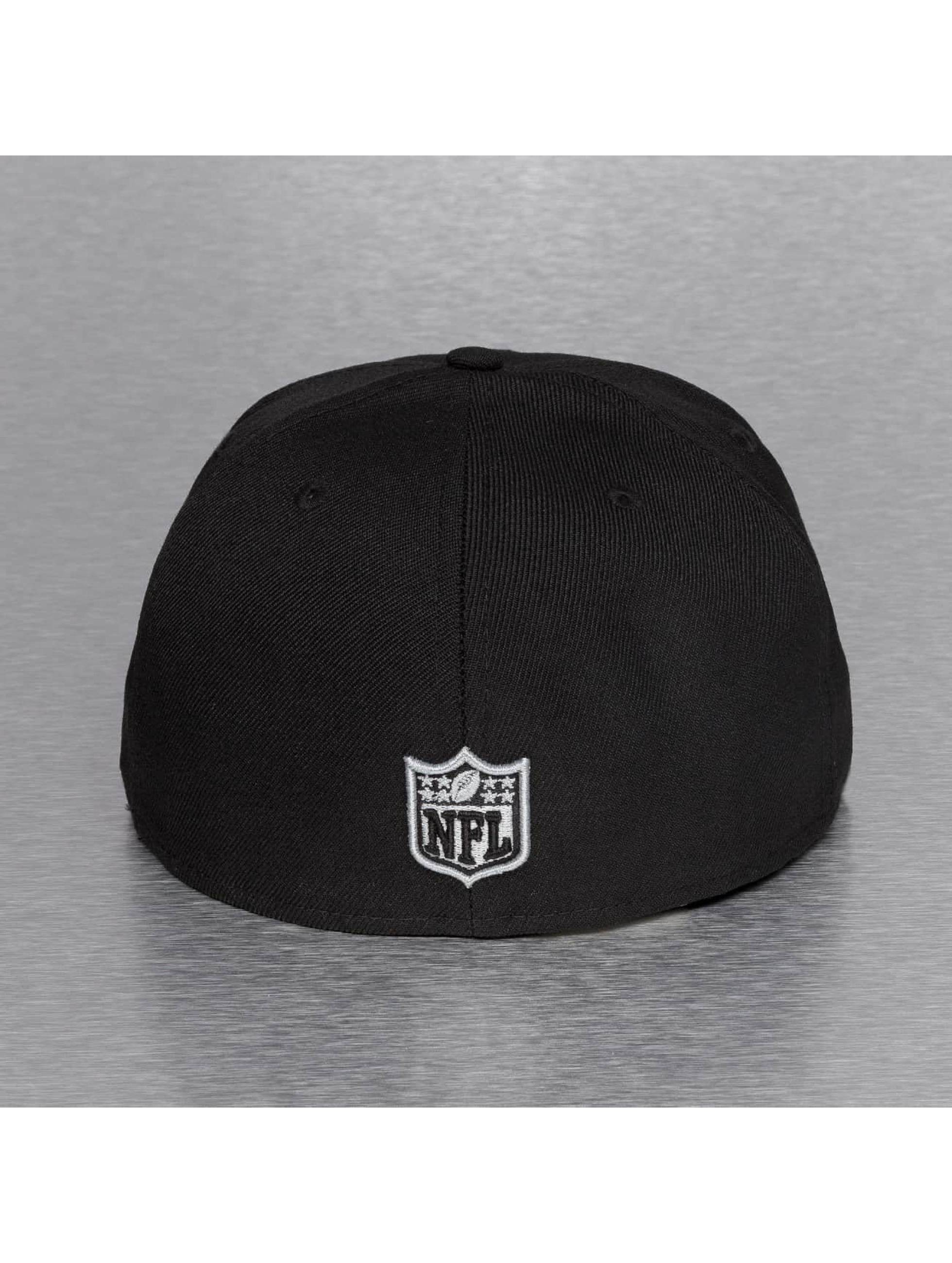 New Era Fitted Cap On Field 15 Sideline Oakland Raiders czarny