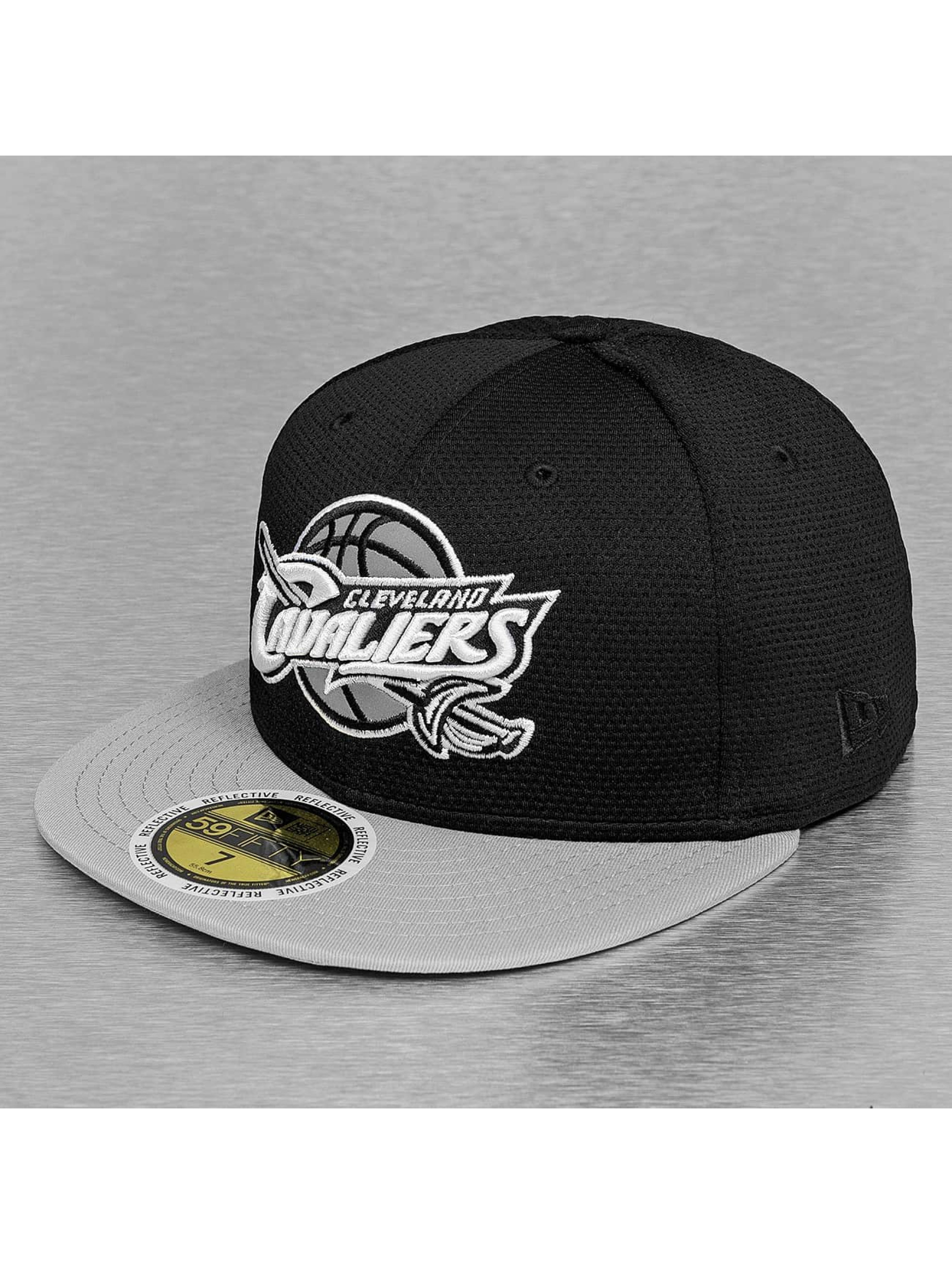 New Era Fitted Cap NBA Reflective Pack Cleveland Cavaliers czarny