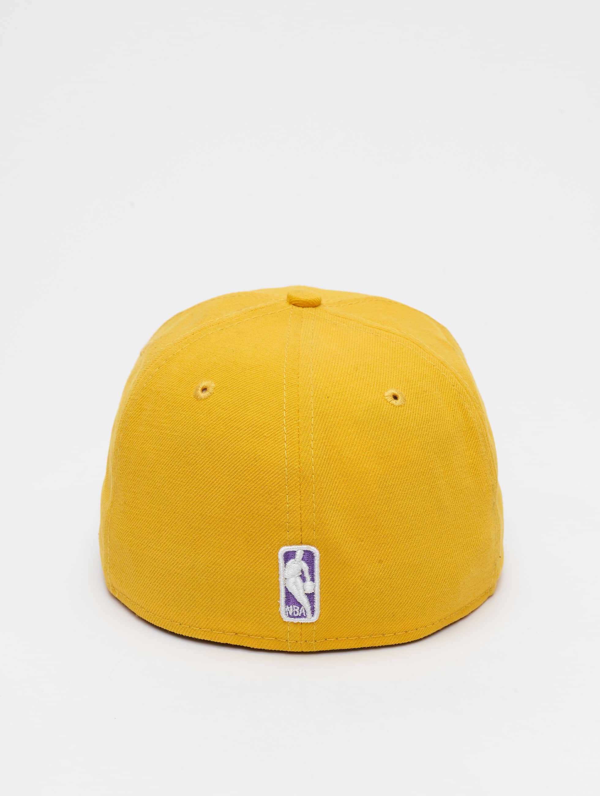 New Era Fitted Cap NBA Basic LA Lakers 59Fifty gelb