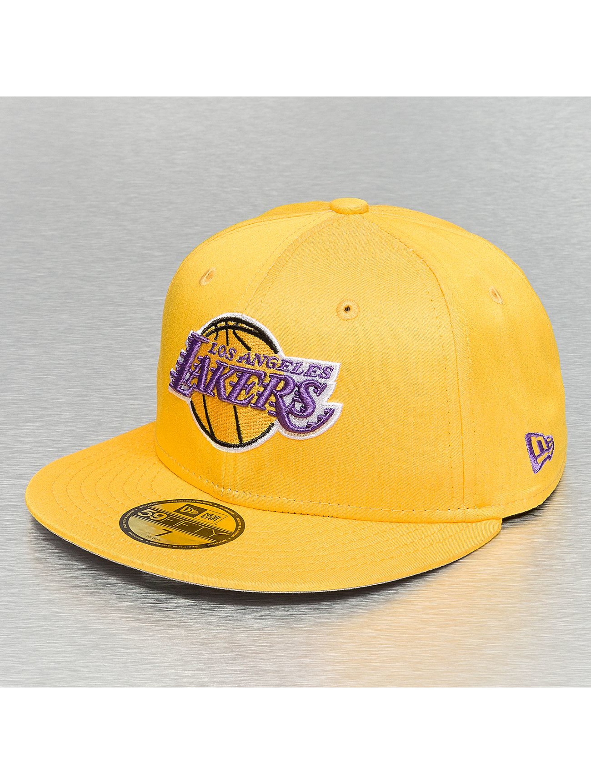 Fitted Cap Colden LA Lakers in gelb
