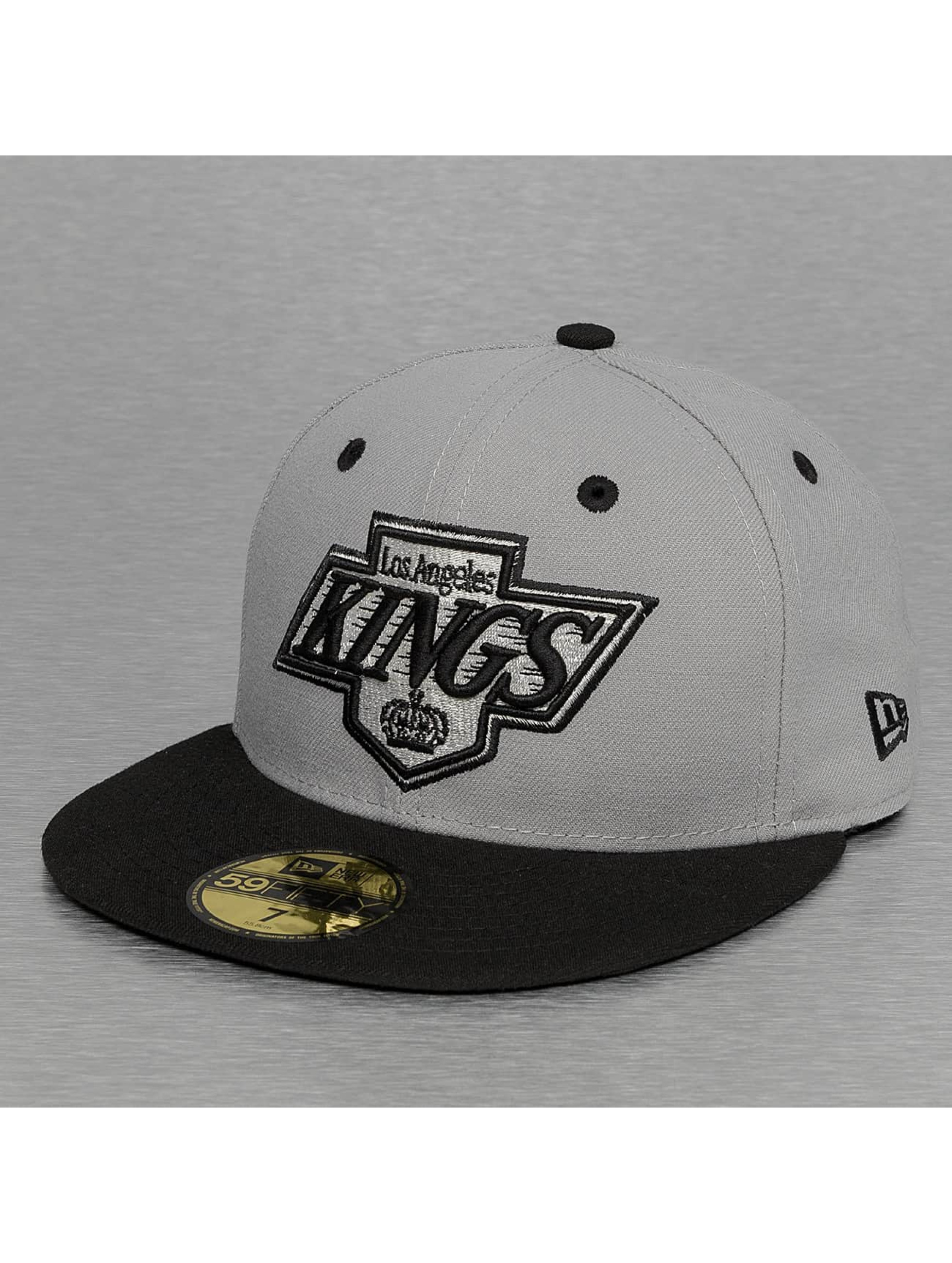 New Era Fitted Cap NHL Team Classic LA Kings 59Fifty gray