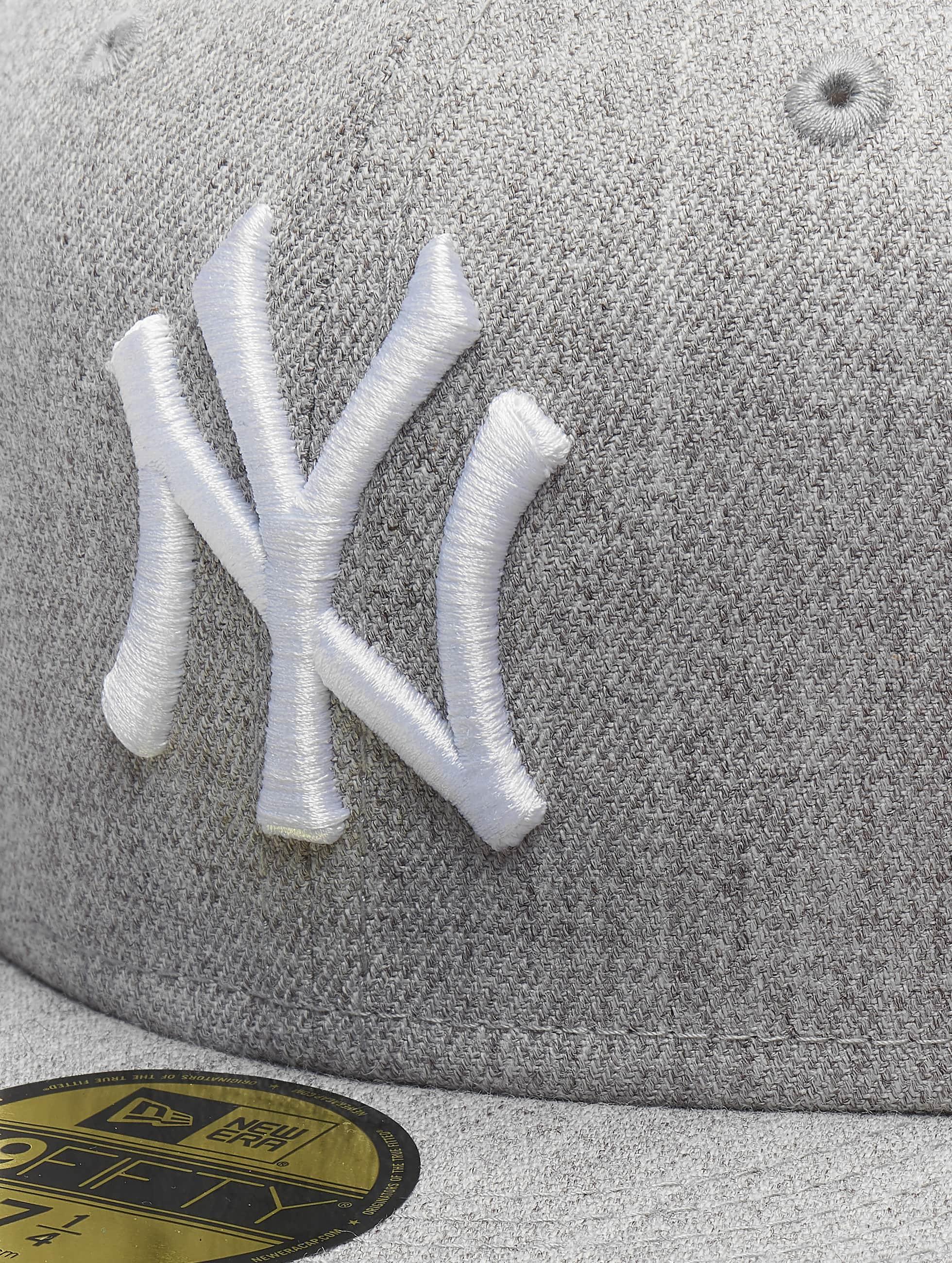 New Era Fitted Cap MLB League Basic NY Yankees 59Fifty grijs