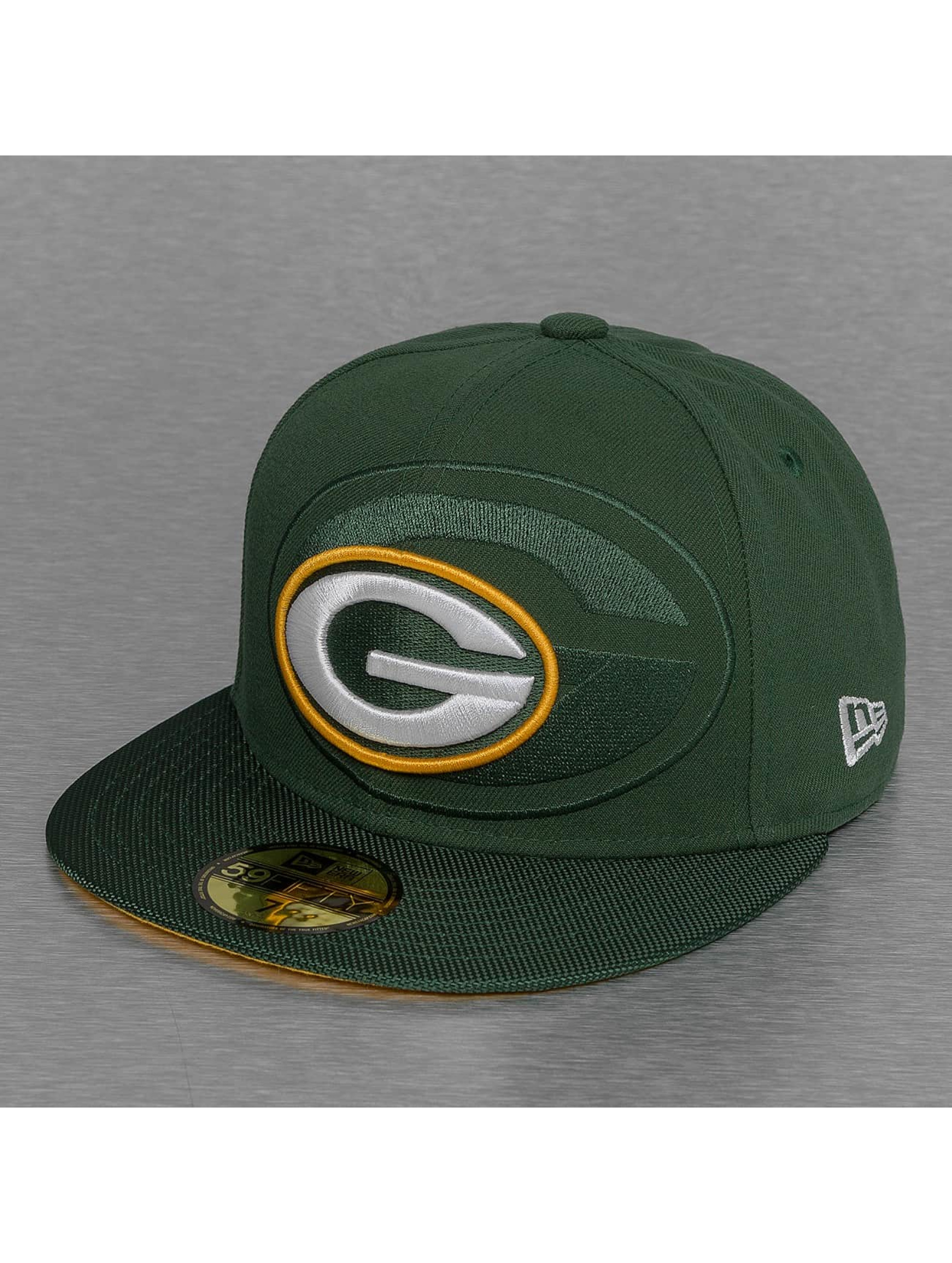 New Era Fitted Cap NFL Green Bay Packers Sideline groen