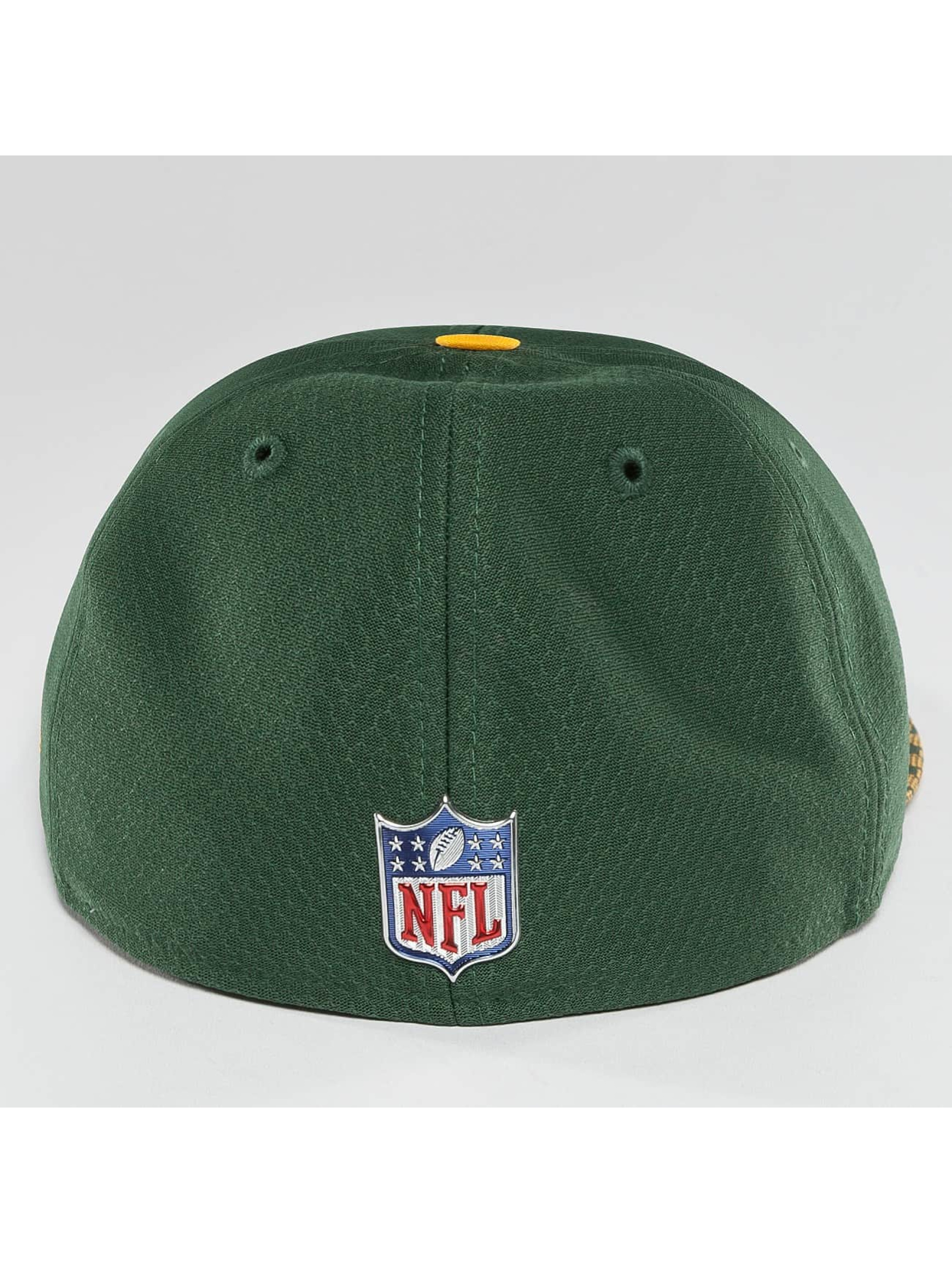 New Era Fitted Cap NFL On Field Green Bay Packers 59Fifty grün