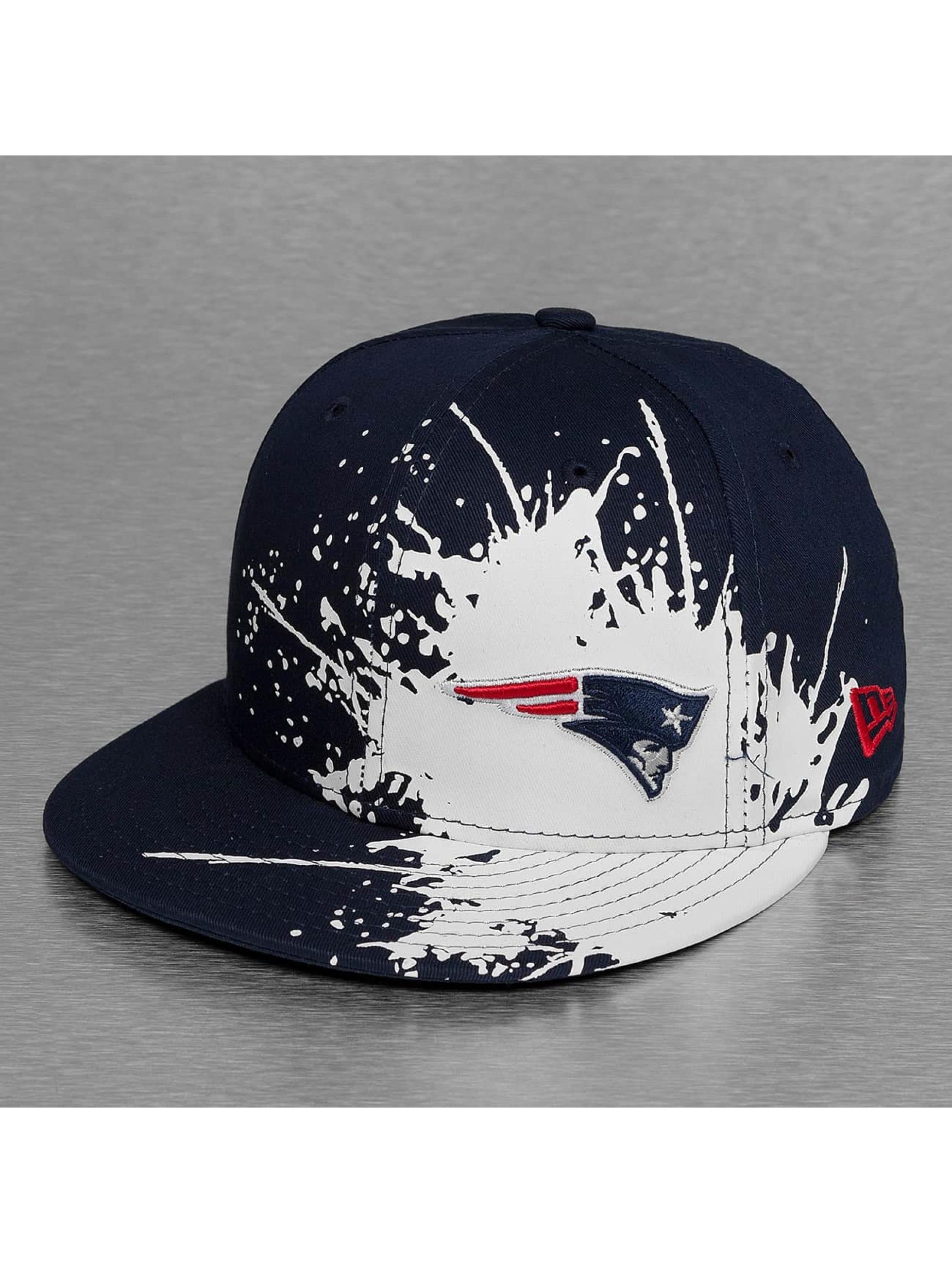New Era Fitted Cap Splatways New England Patriots modrá