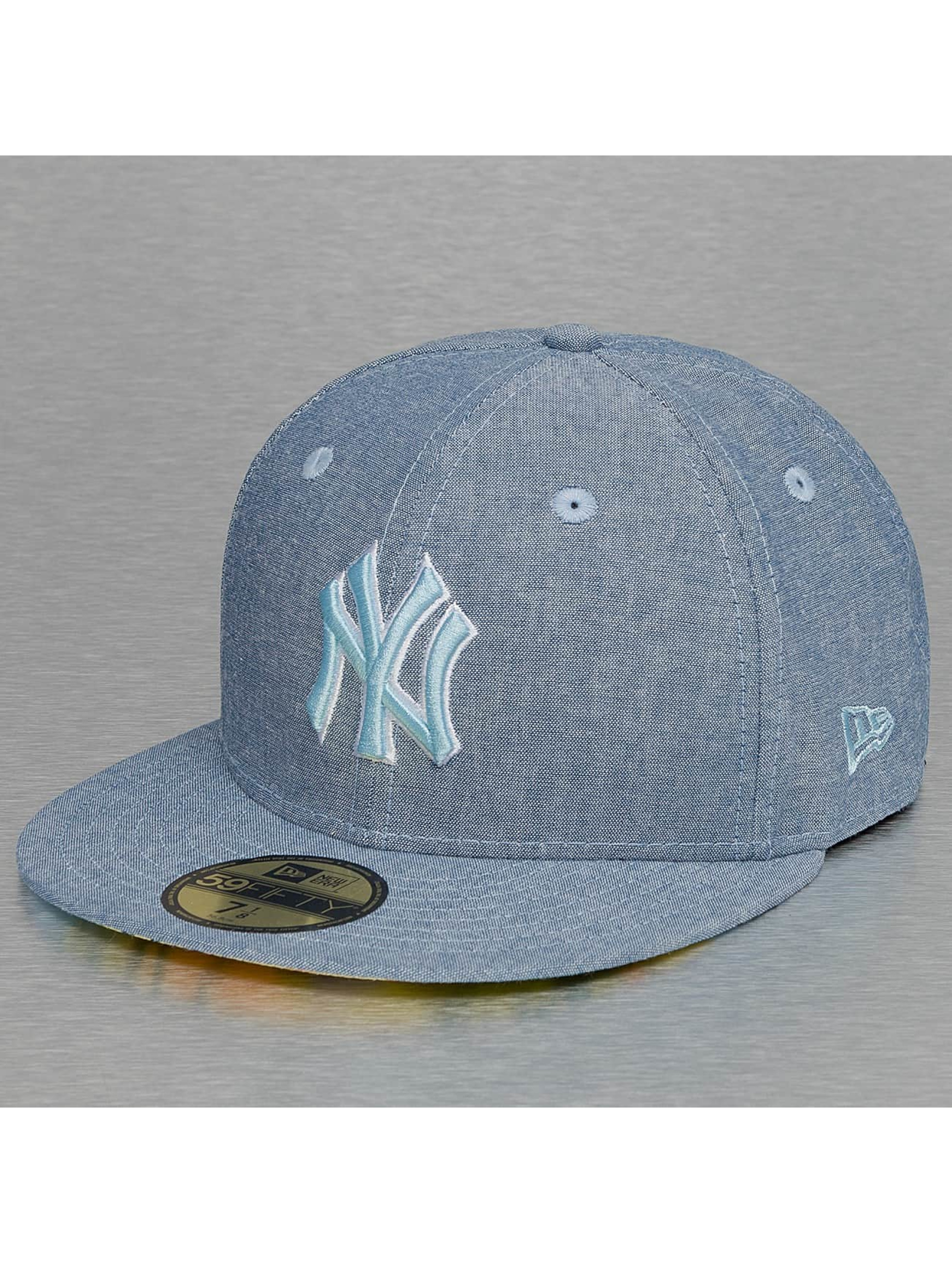 New Era Fitted Cap All Over Chambrey New York Yankees modrá