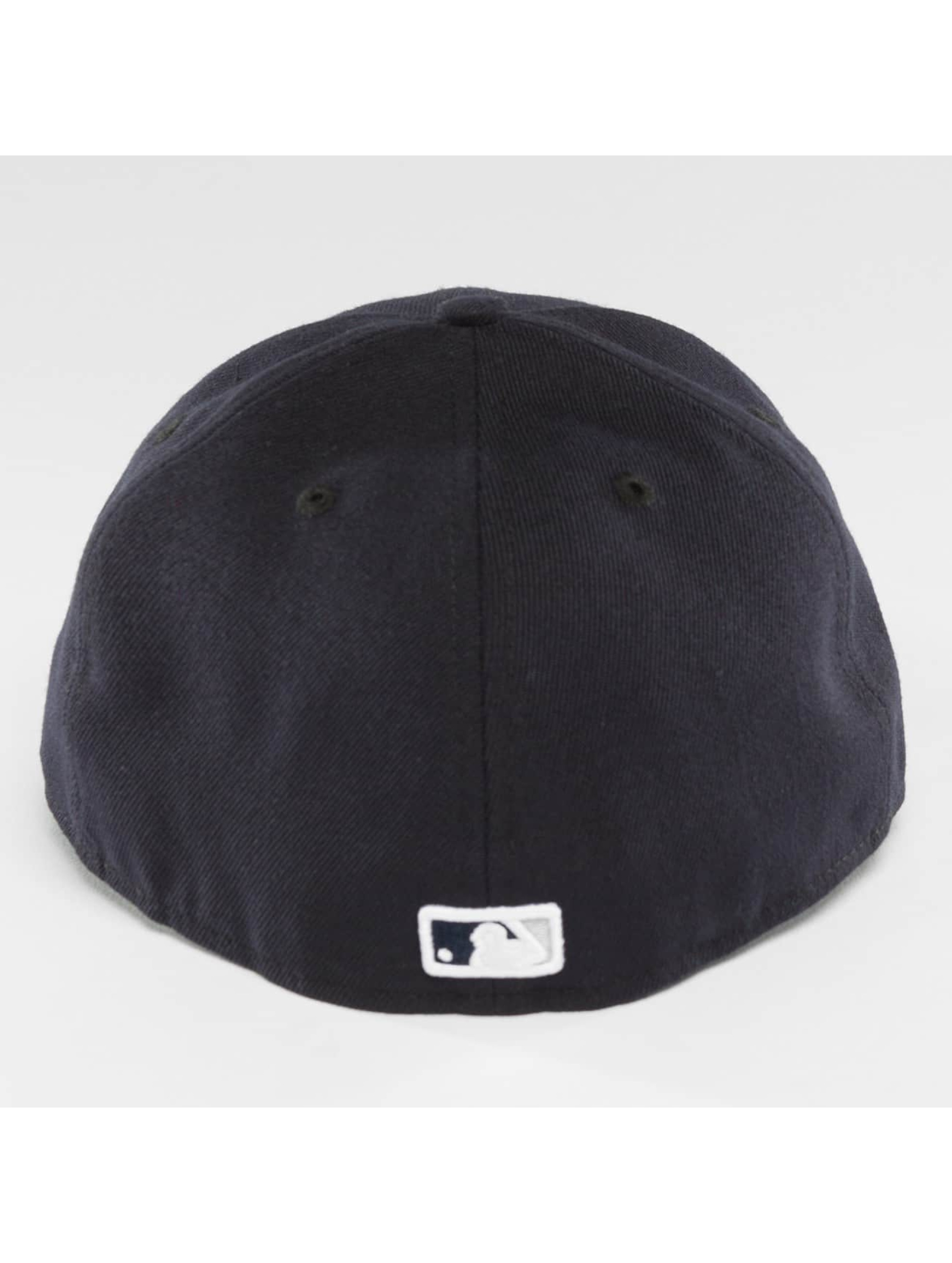 New Era Fitted Cap Authentic Performance Low Crown NY Yankees modrá