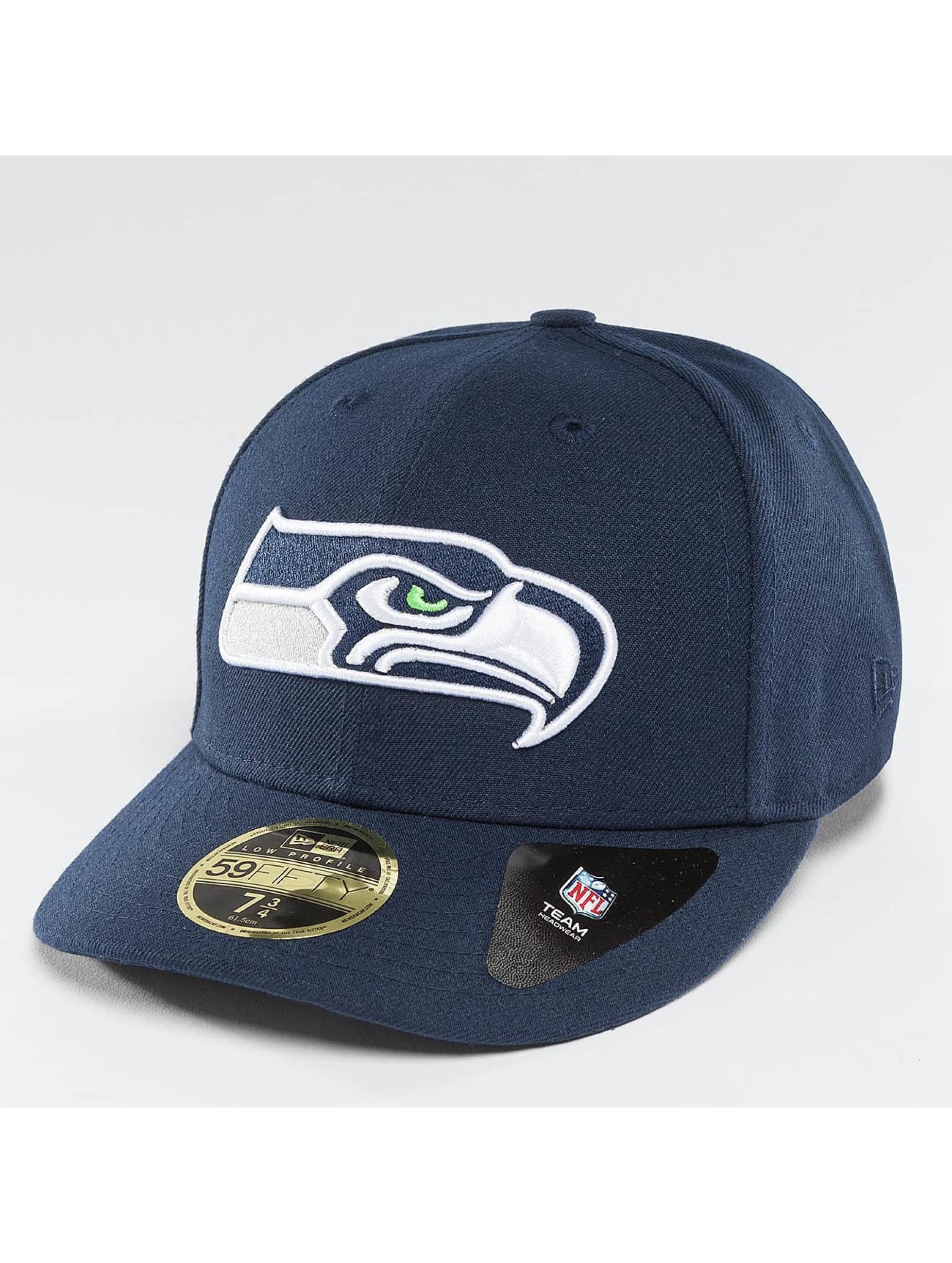 New Era Fitted Cap Team Classic Seattle modrá