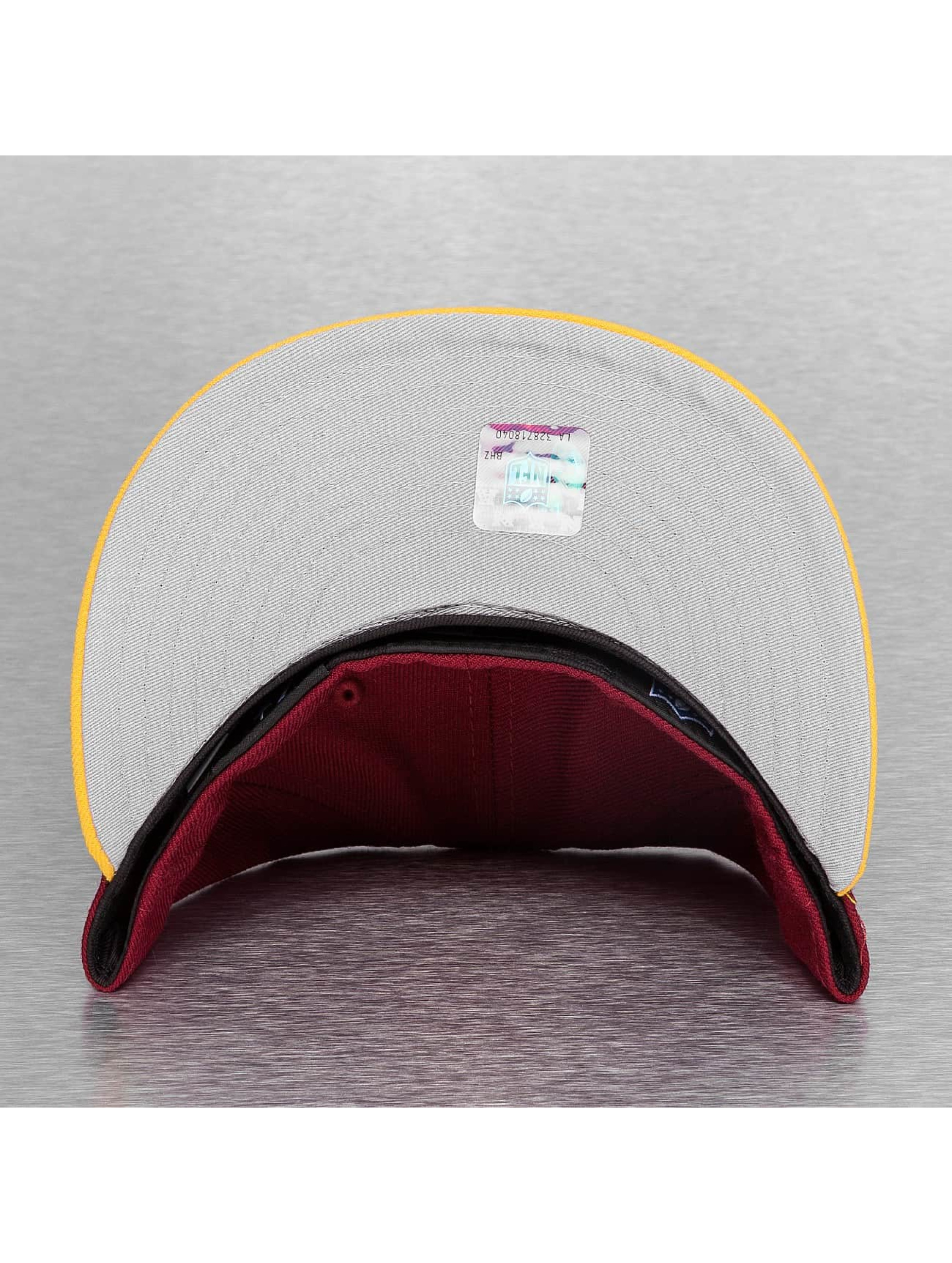 New Era Fitted Cap On Field 15 Sideline Washington Redskins red