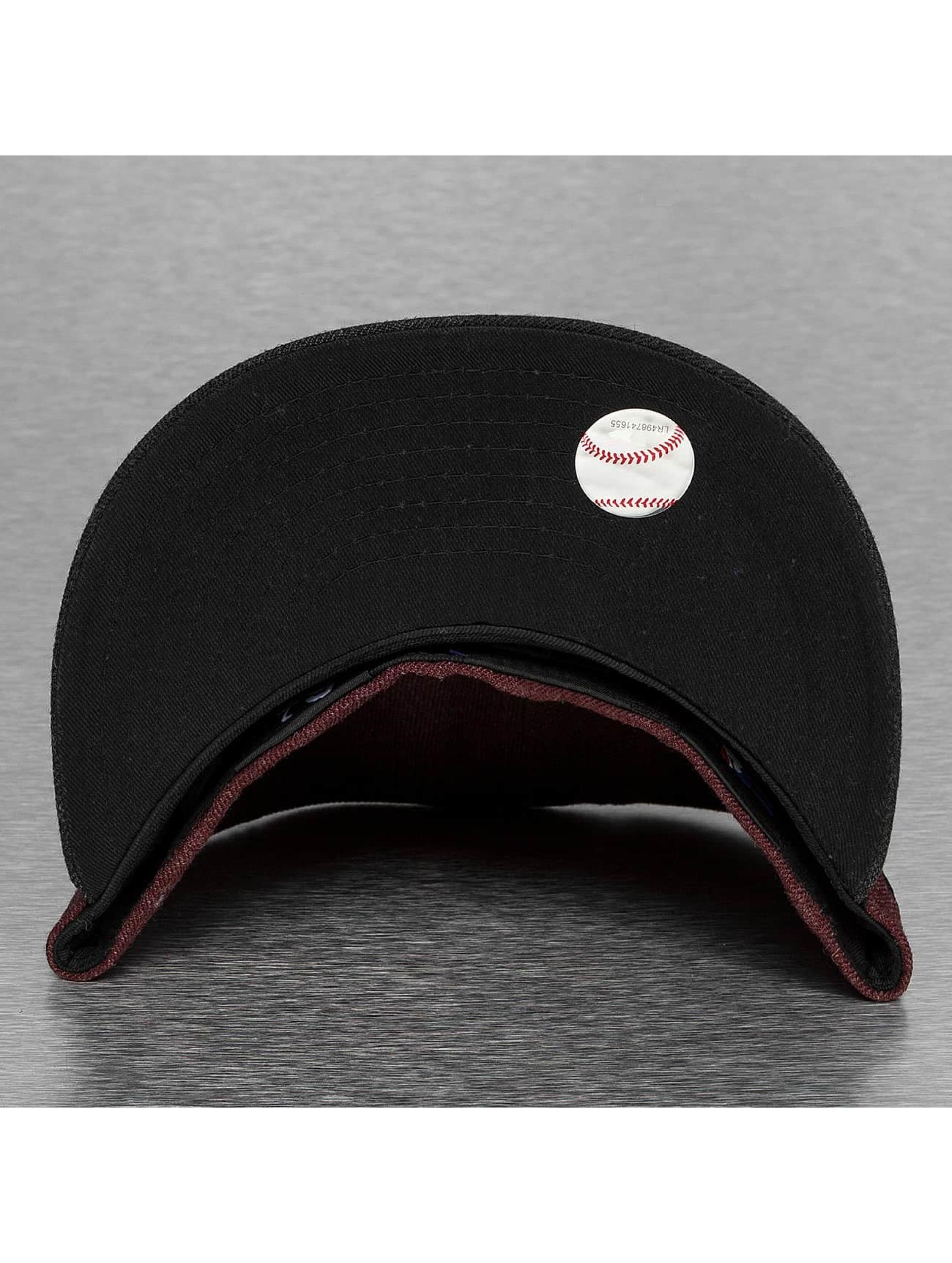 New Era Fitted Cap Heather Mashup New York Yankees red