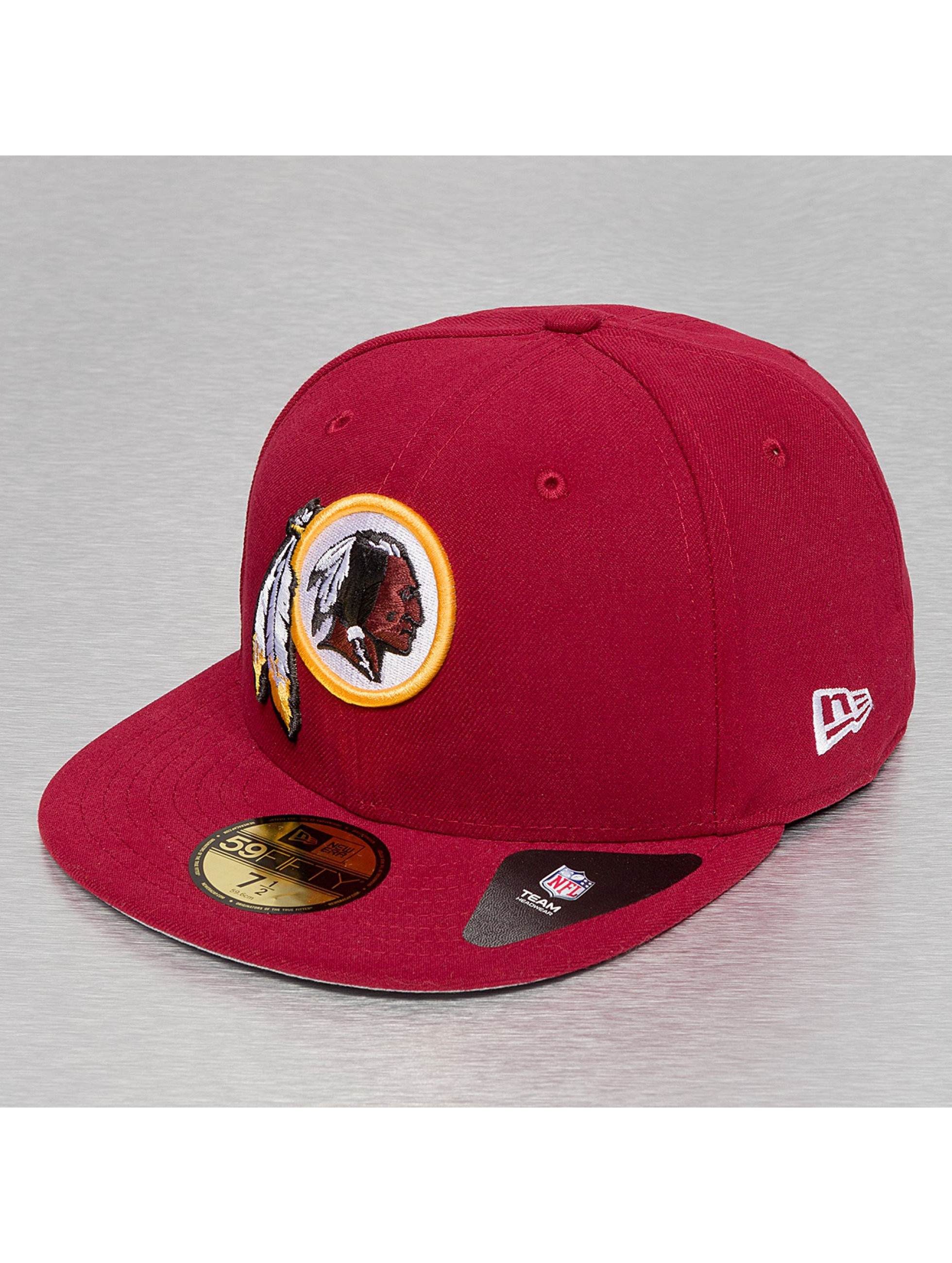 New Era Fitted Cap Team Patch Washington Redskins rot
